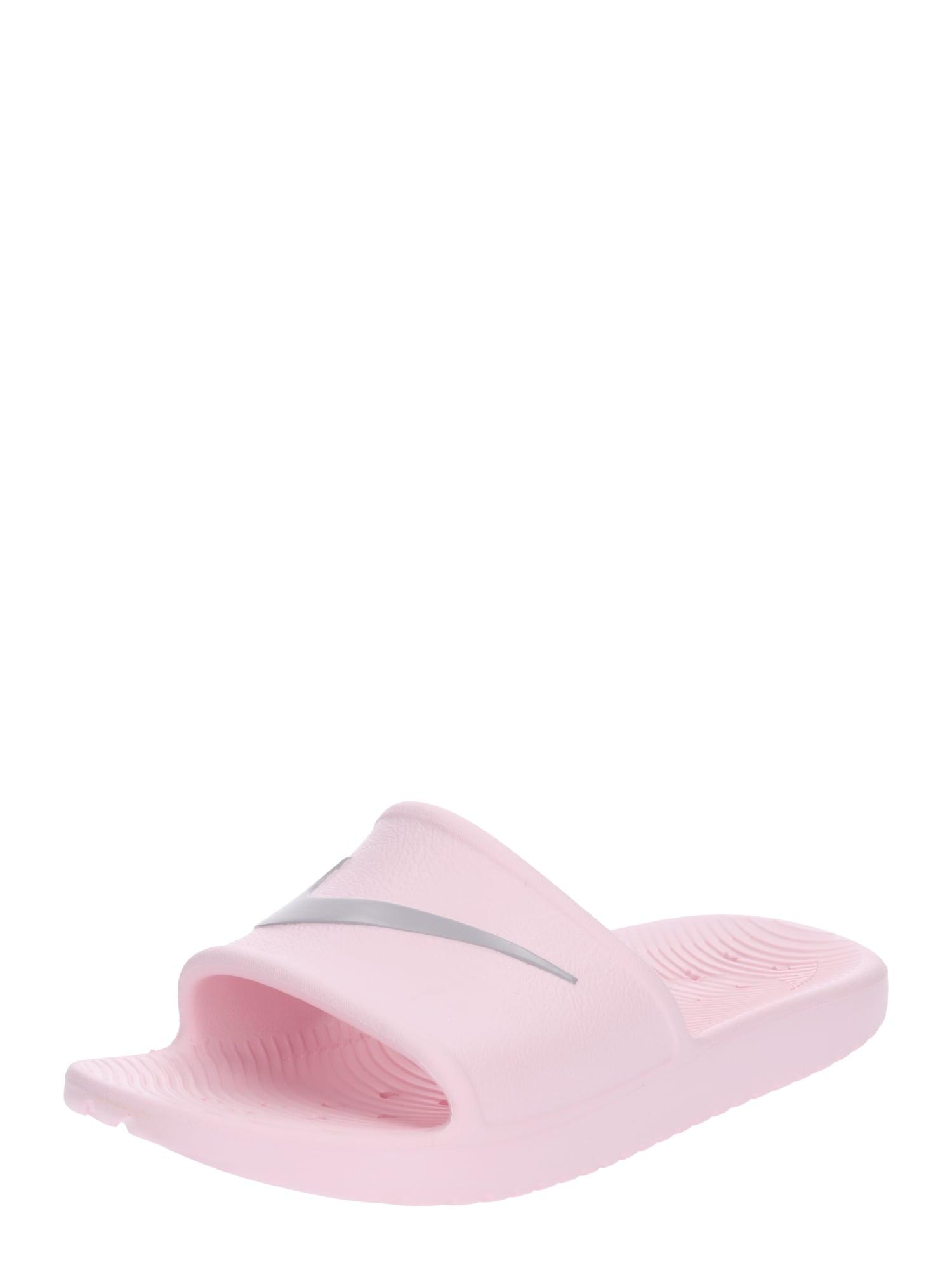 Nike Sportswear Sandalai / maudymosi batai rožių spalva / šviesiai pilka