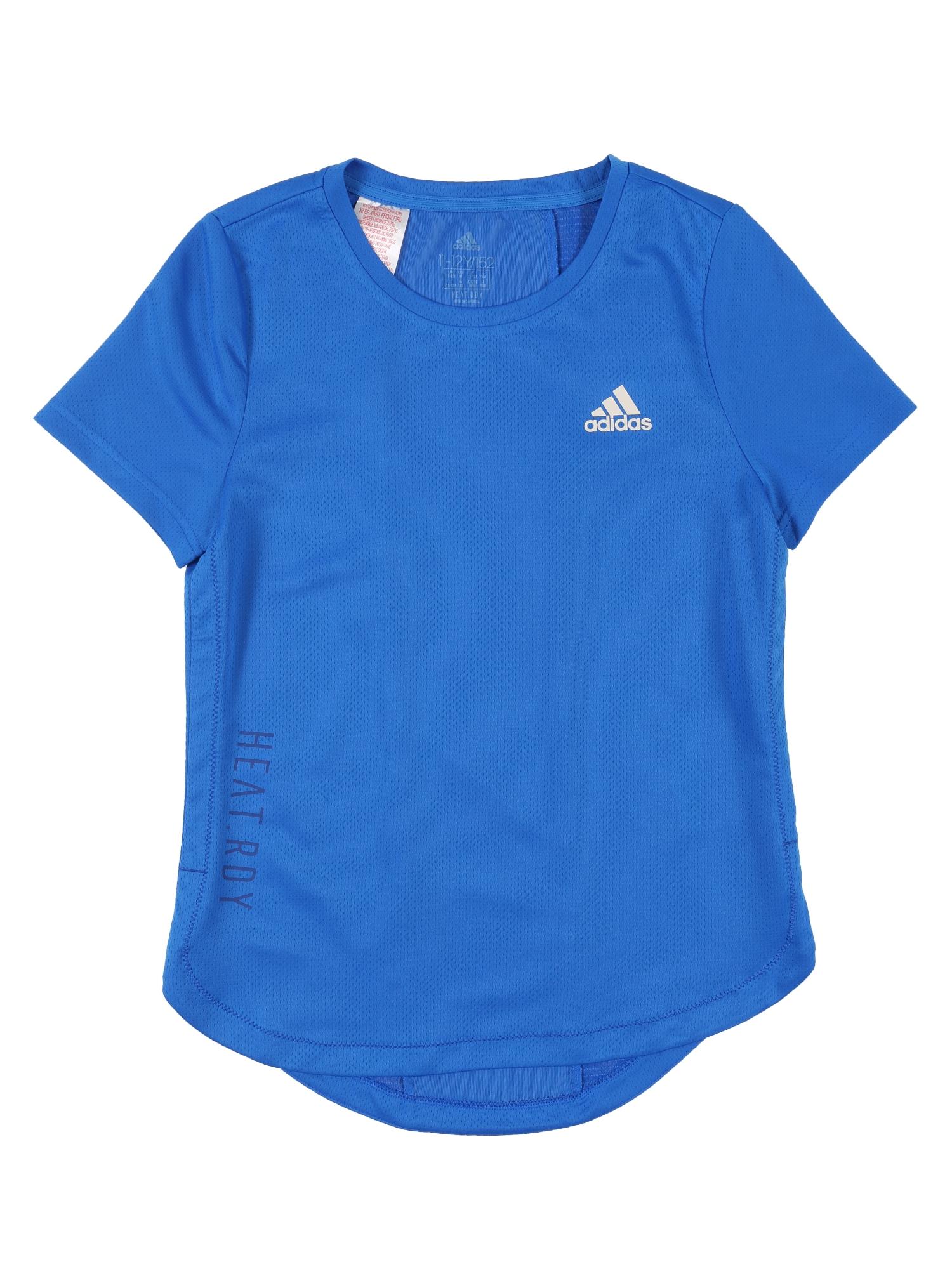 ADIDAS ORIGINALS Funkčné tričko 'JG TR H.R. TEE'  modré