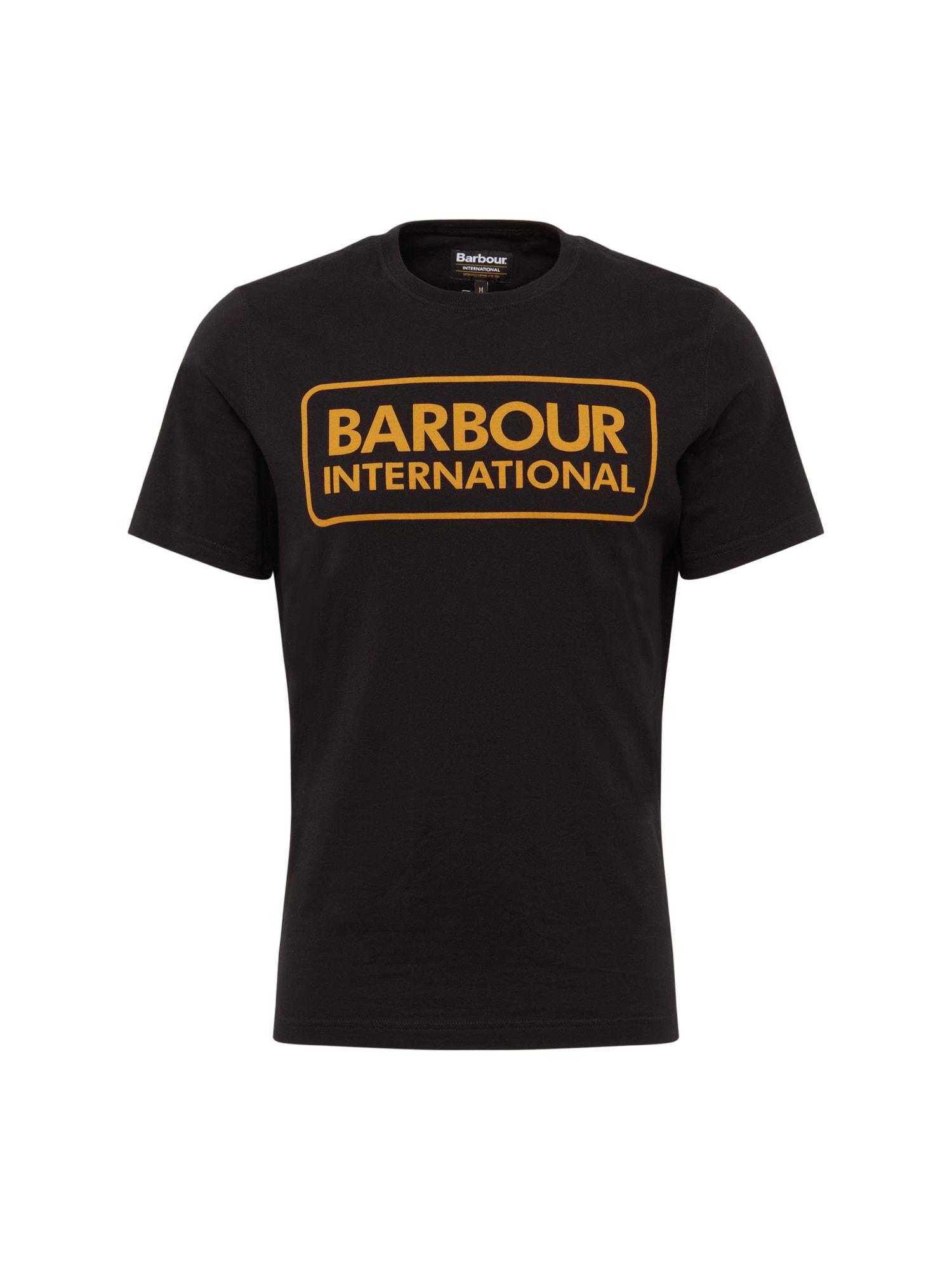 Tričko Essential Large Logo Tee černá Barbour International