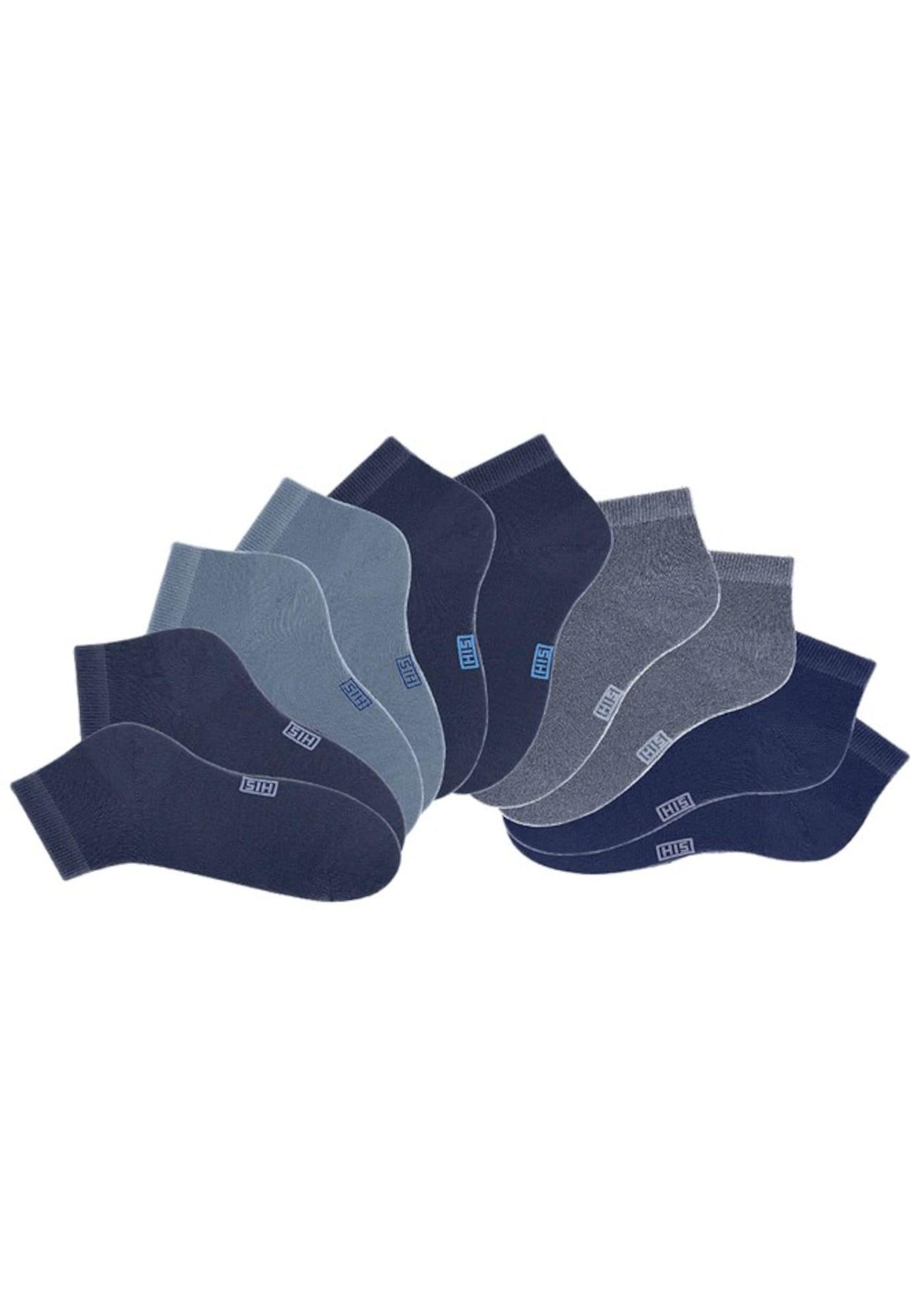 H.I.S Kojinės tamsiai mėlyna jūros spalva / mėlyna dūmų spalva / nakties mėlyna / šviesiai mėlyna / tamsiai mėlyna