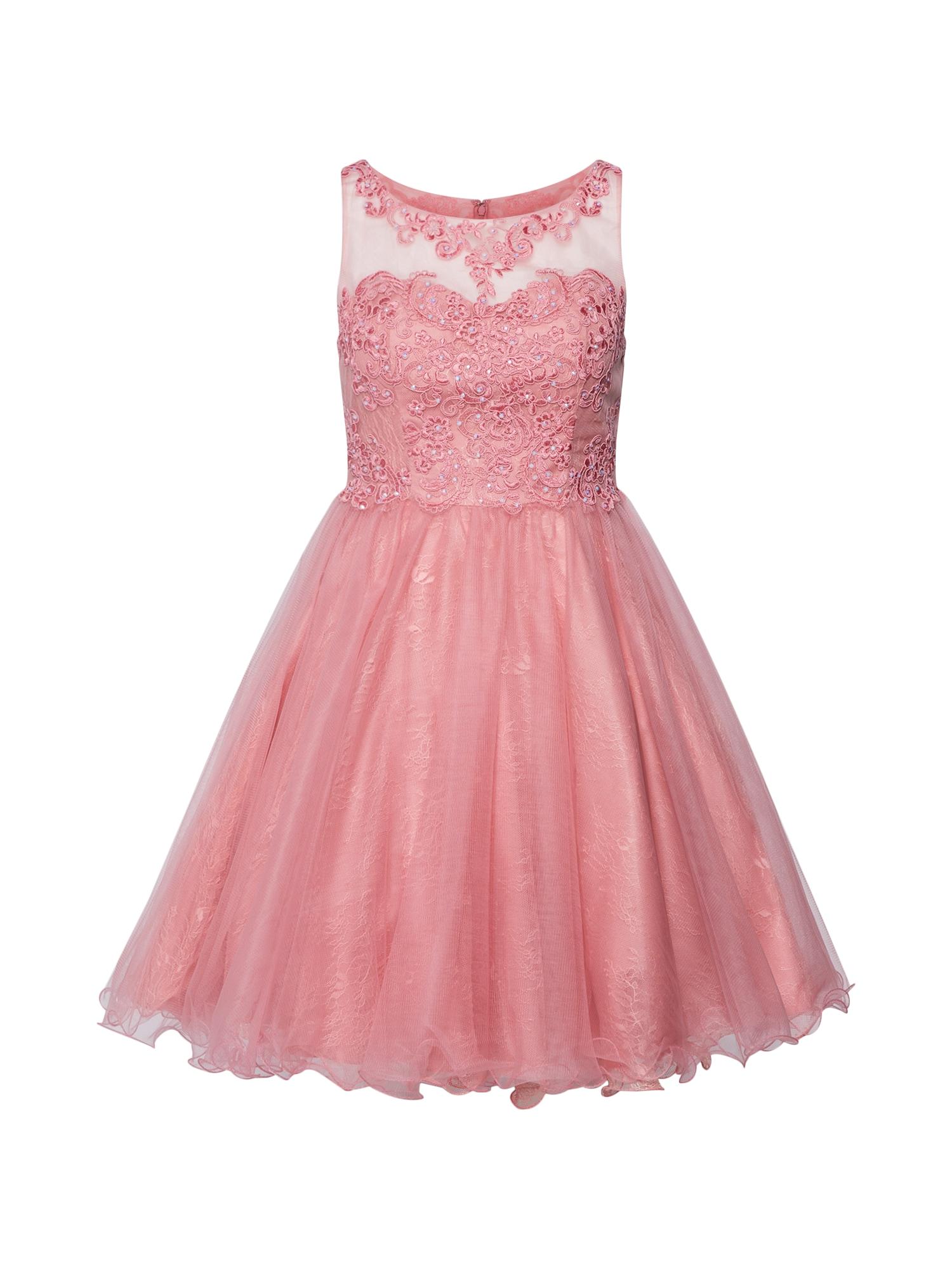 Koktejlové šaty pink Laona