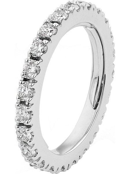 Ringe für Frauen - CHRIST Ring mit 32 Diamanten silber  - Onlineshop ABOUT YOU