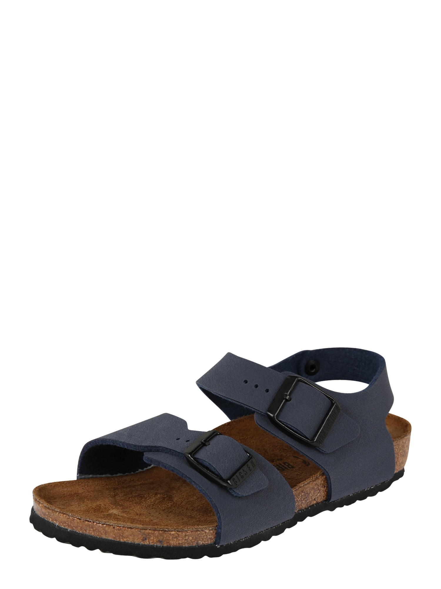 BIRKENSTOCK Atviri batai 'New York Kids BF' tamsiai mėlyna