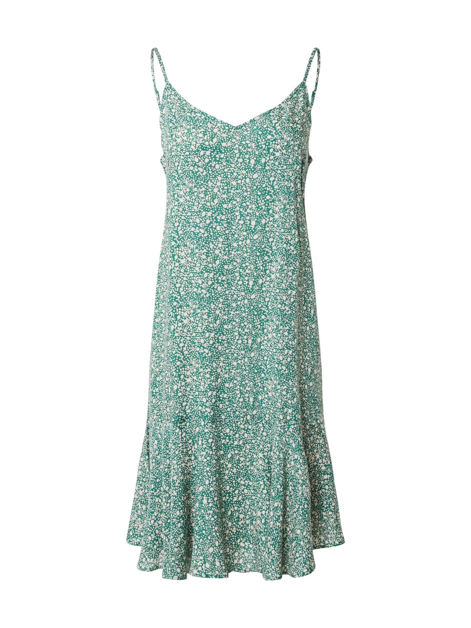 PIECES Letné šaty 'PCNYA'  zelená