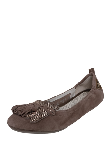 Ballerinas für Frauen - Bugatti Ballerina taupe  - Onlineshop ABOUT YOU