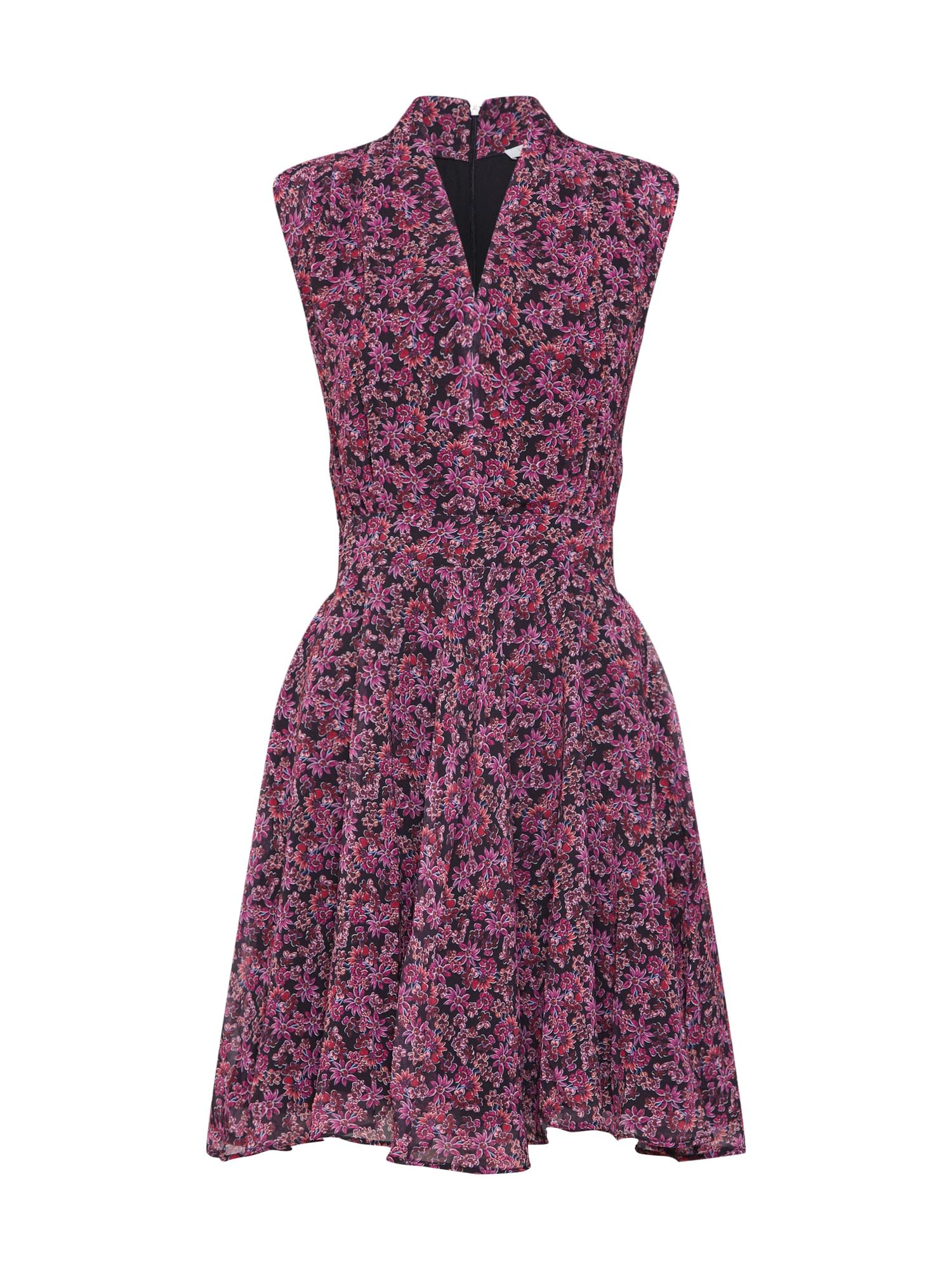 Letní šaty fialová mix barev Freebird