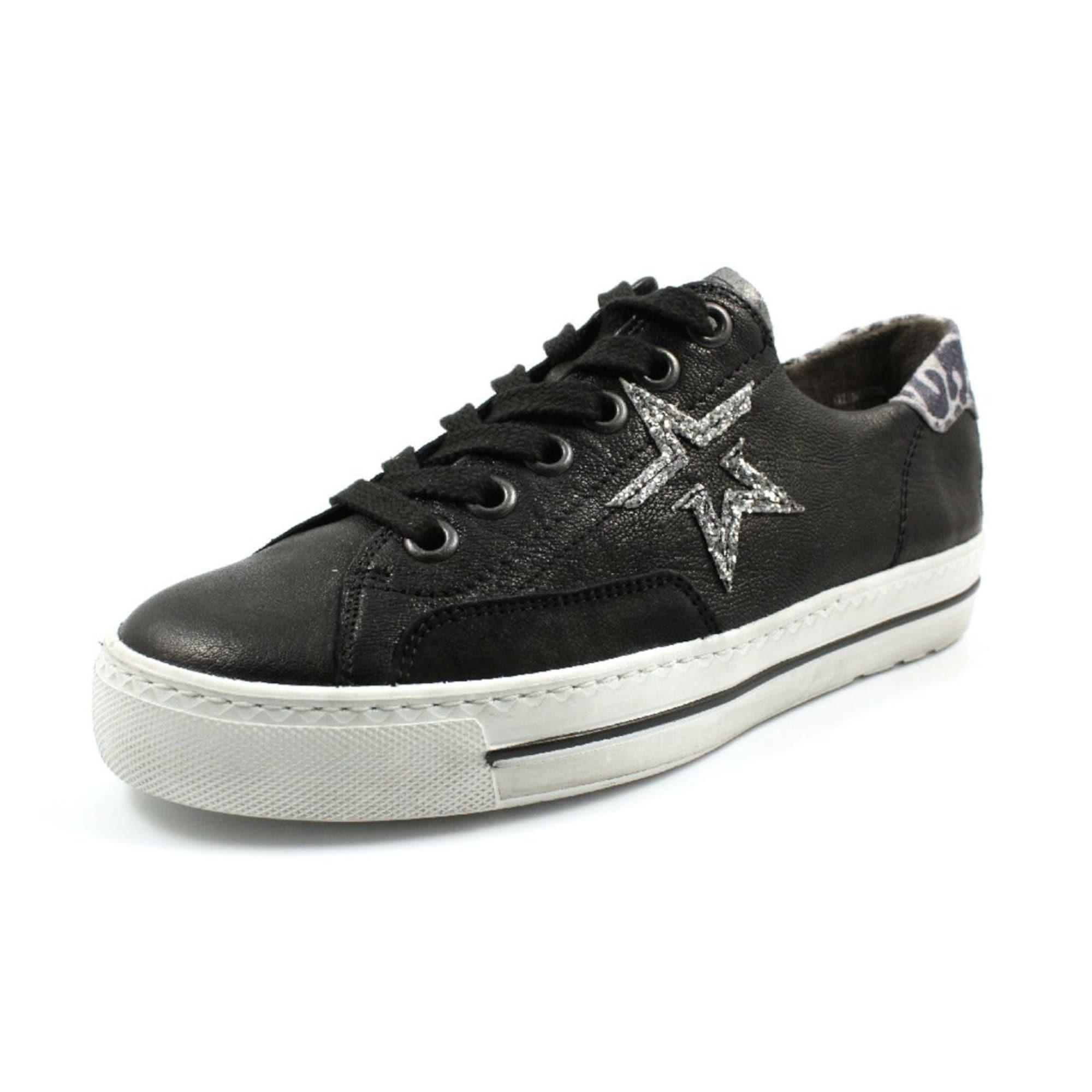 Paul Green Rövid szárú edzőcipők  ezüst / fekete