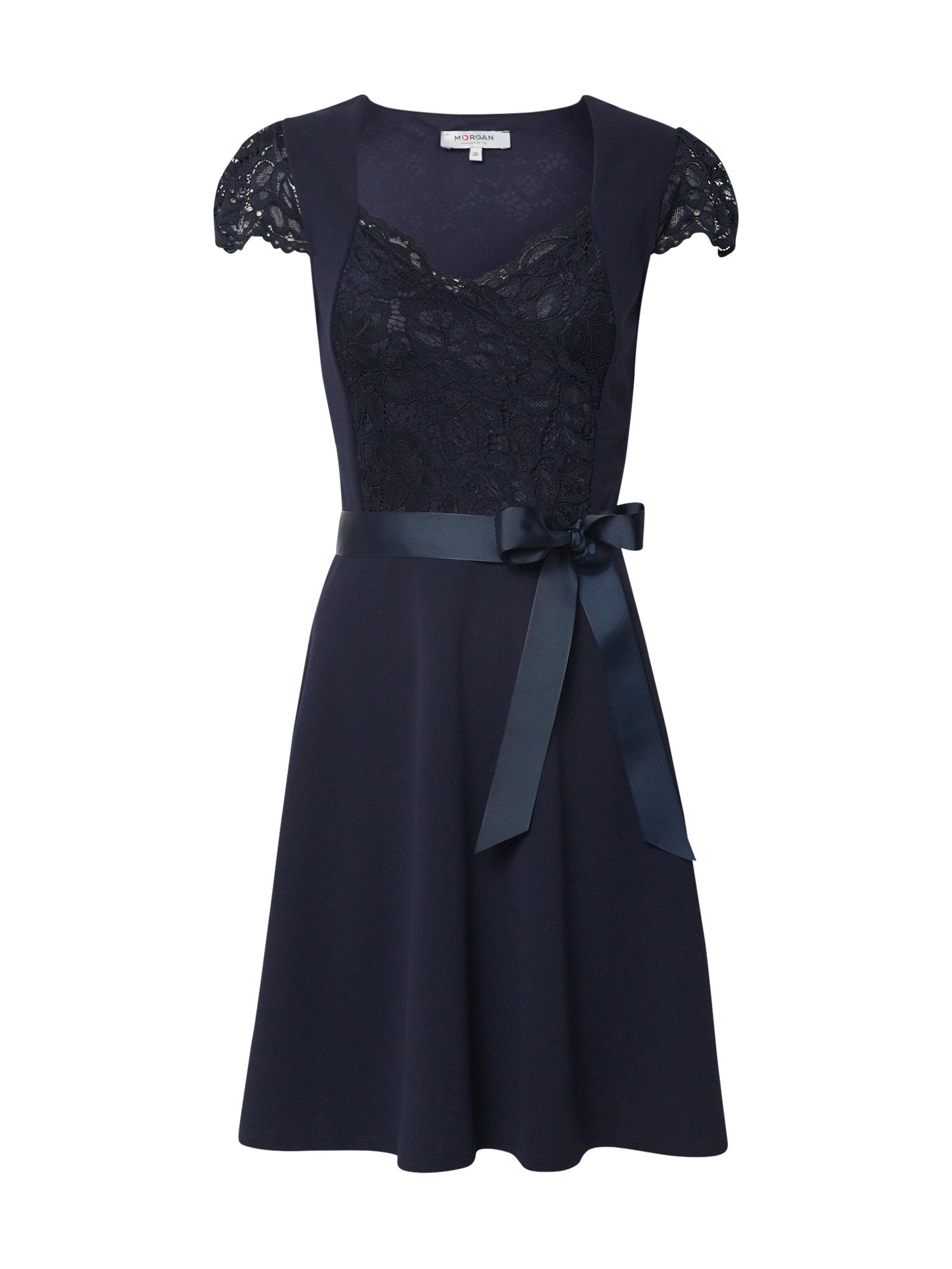 Morgan Šaty  marine modrá