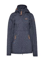 Ragwear Damen Softshell-Jacke MYRA blau | 04251436275098