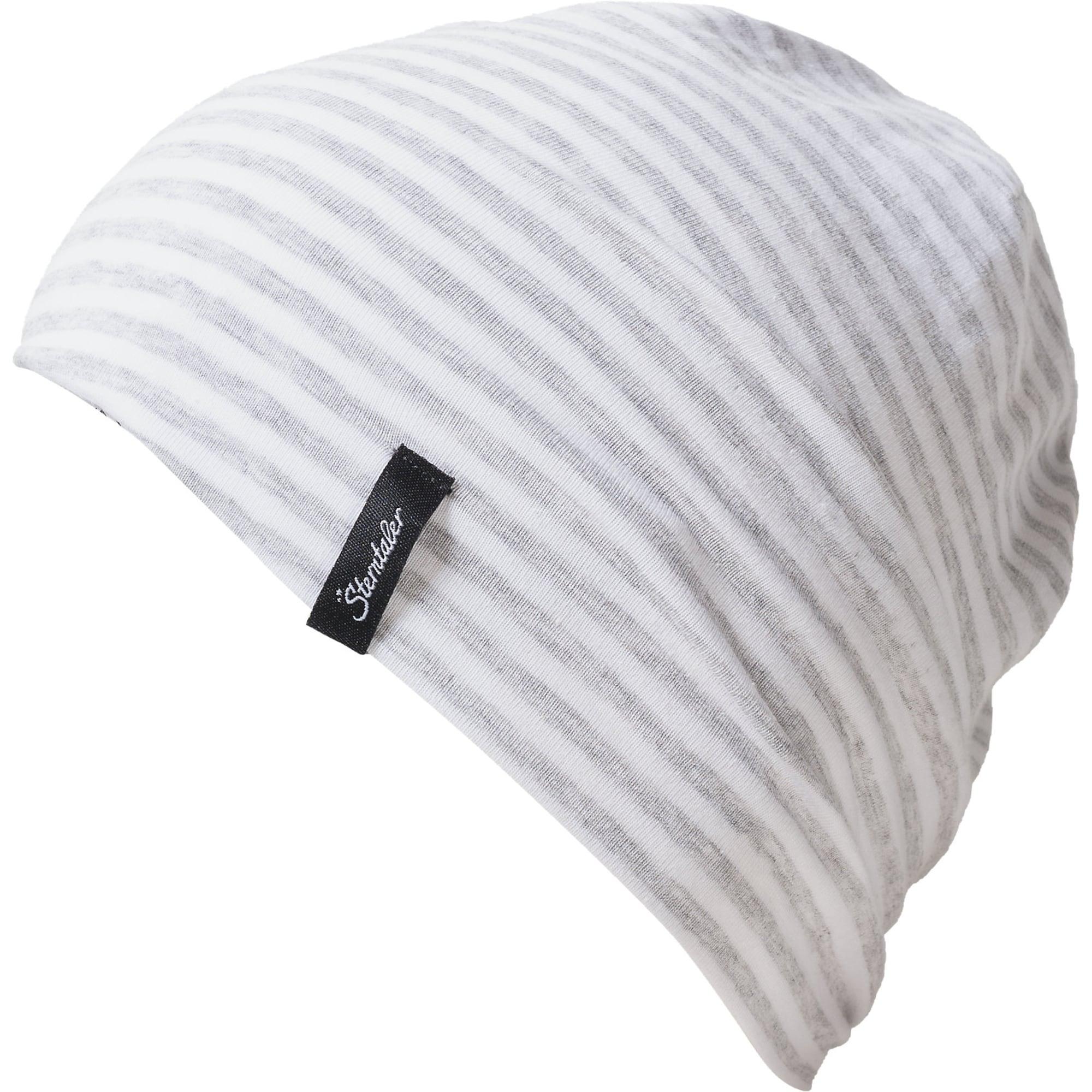 STERNTALER Megzta kepurė balta / pilka