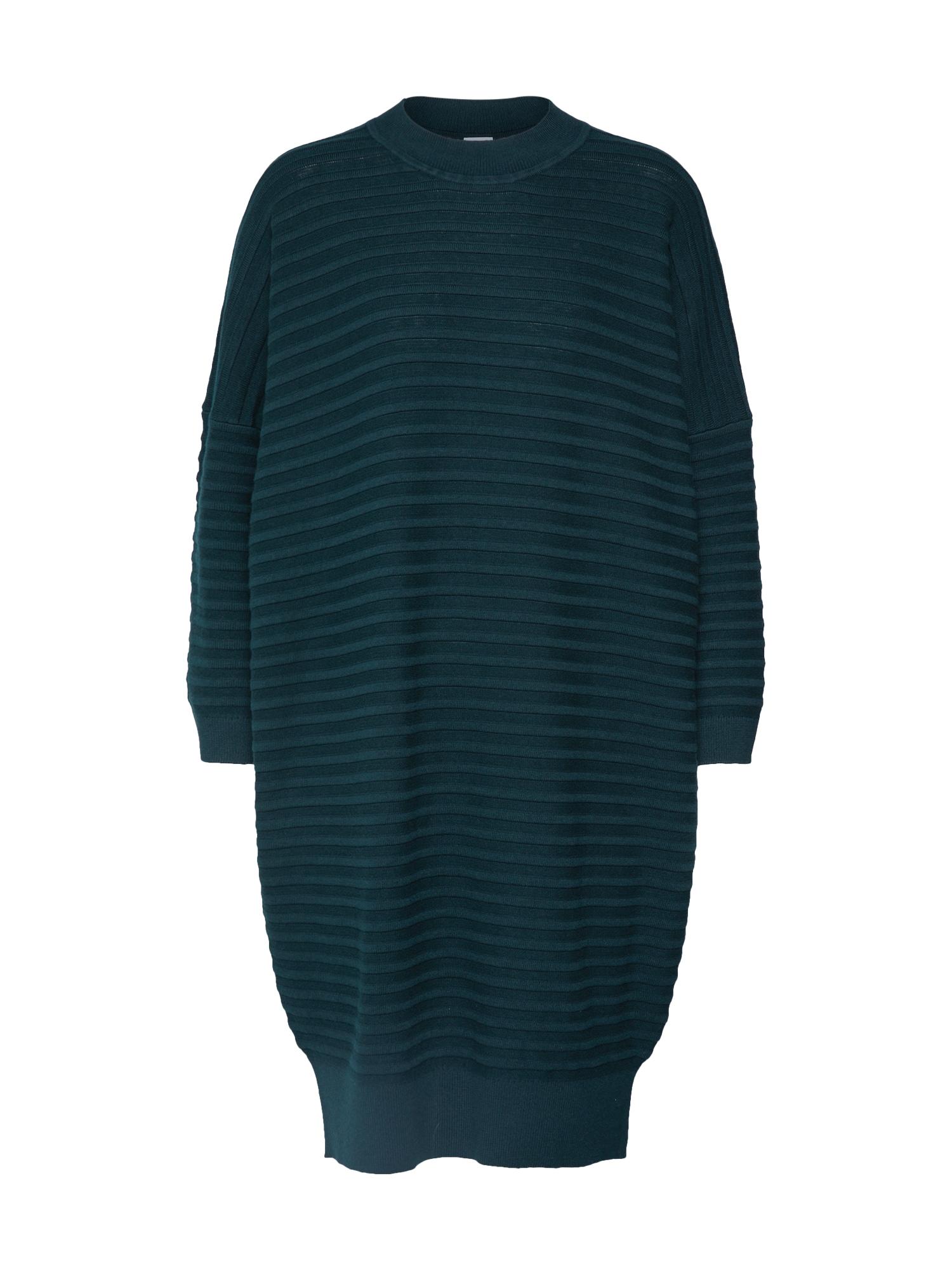 BOSS Megzta suknelė 'Islene' tamsiai žalia