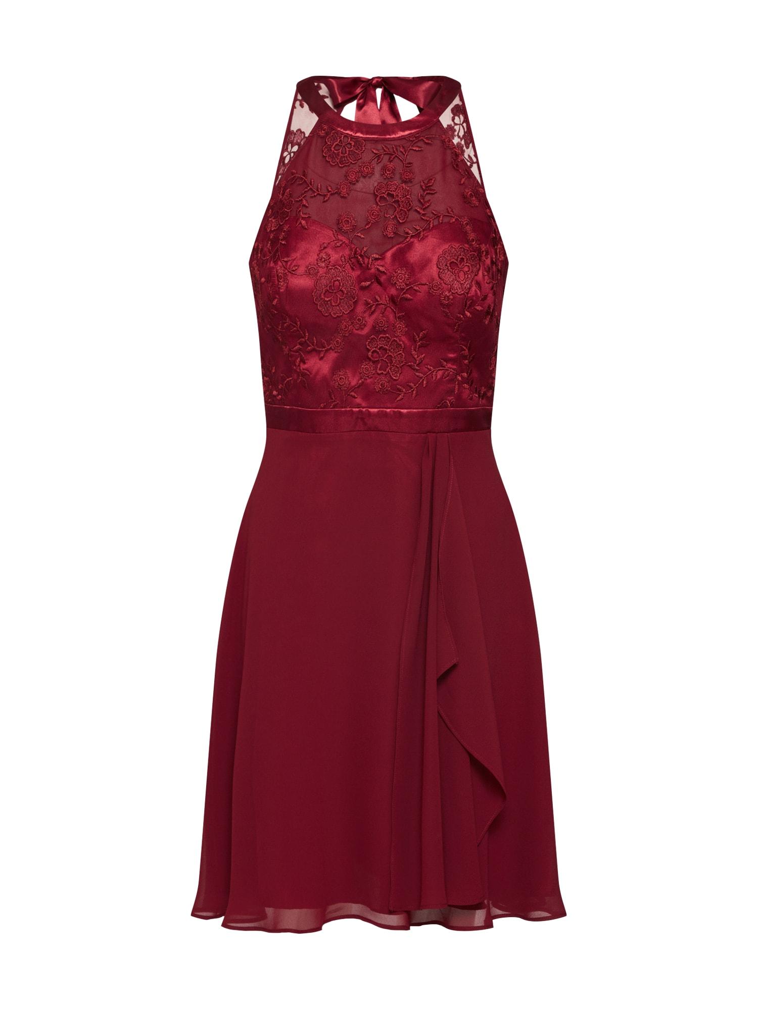 Vera Mont Kokteilinė suknelė burgundiško vyno spalva