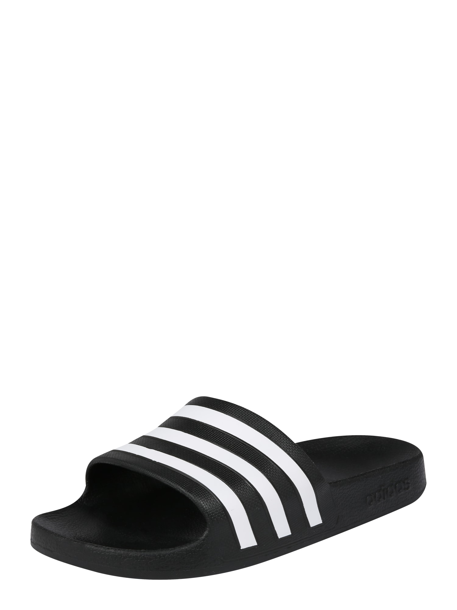 ADIDAS PERFORMANCE Sandalai / maudymosi batai 'AQUA' juoda / balta