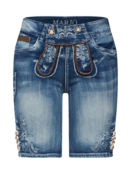 Hosen - Shorts 'Franziska' › MARJO › blue denim  - Onlineshop ABOUT YOU
