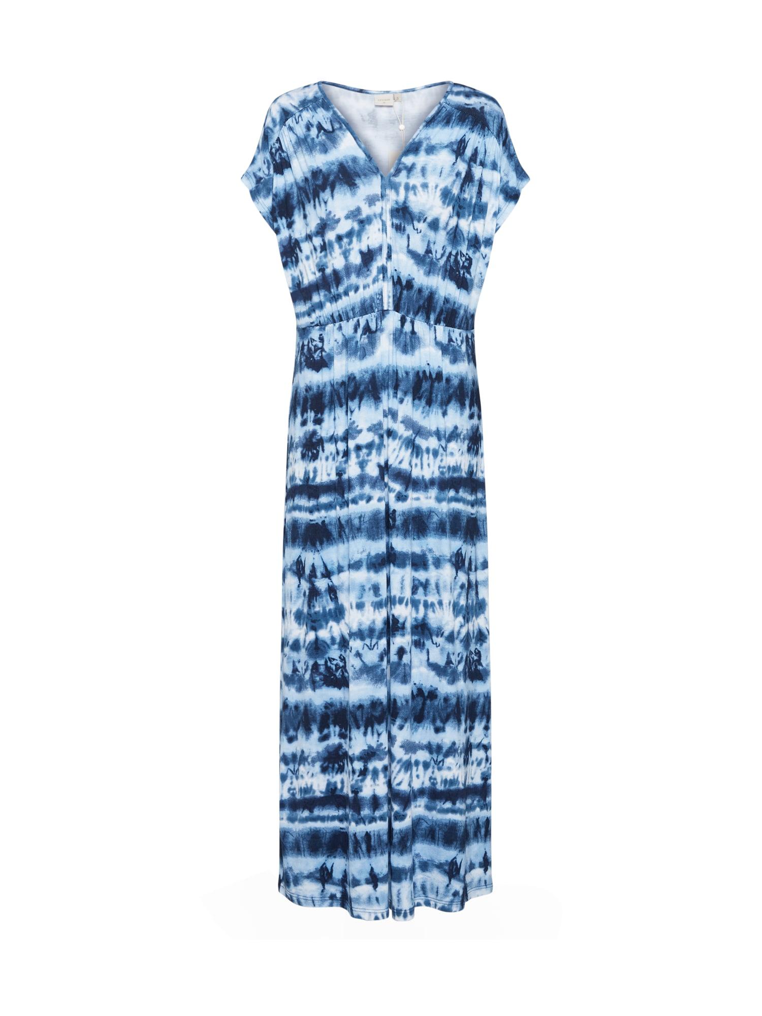 Cream Vasarinė suknelė 'LonnieCR' smėlio / tamsiai mėlyna
