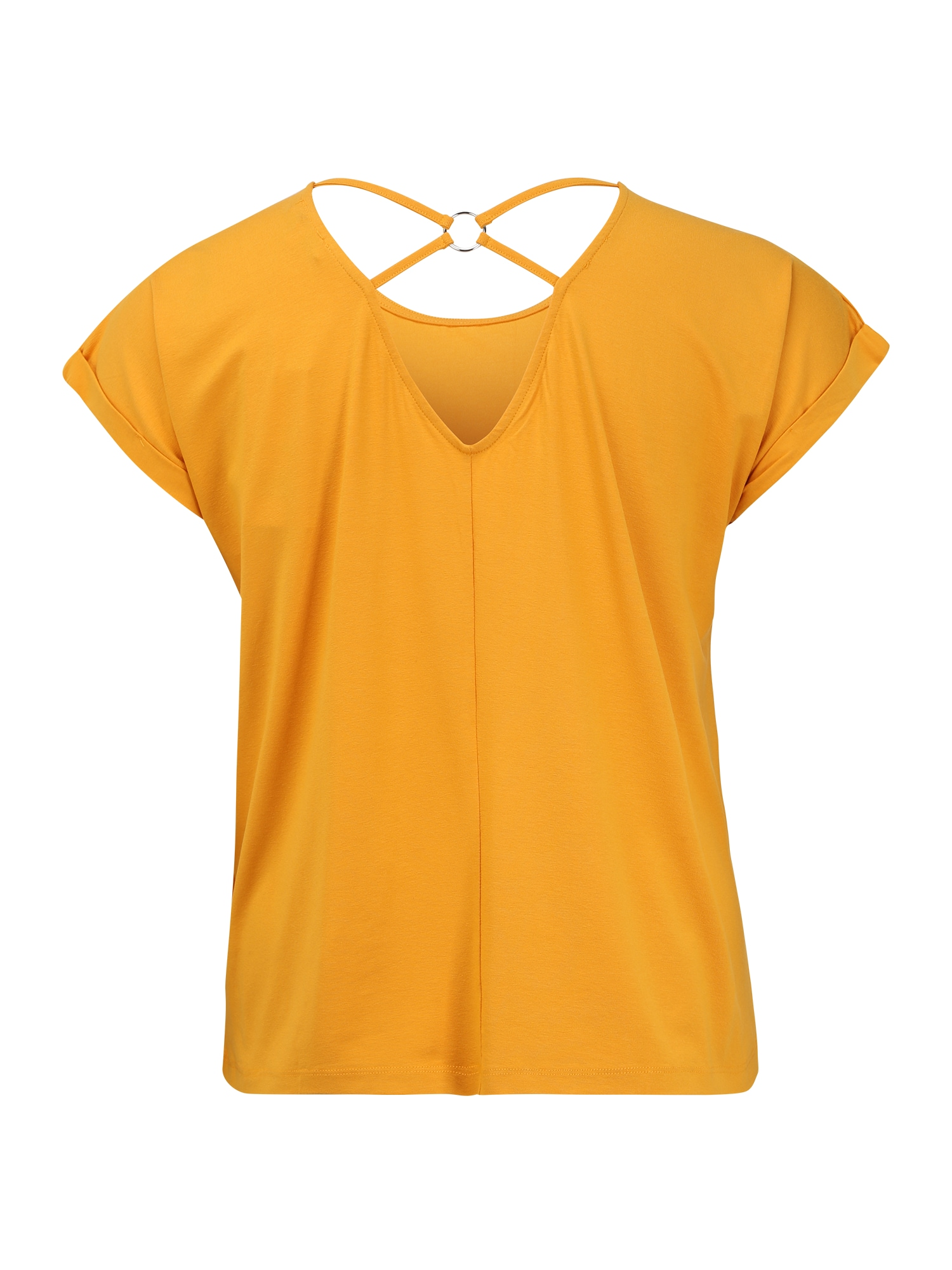 ABOUT YOU Curvy T-shirt 'Bettina'  senap / gul