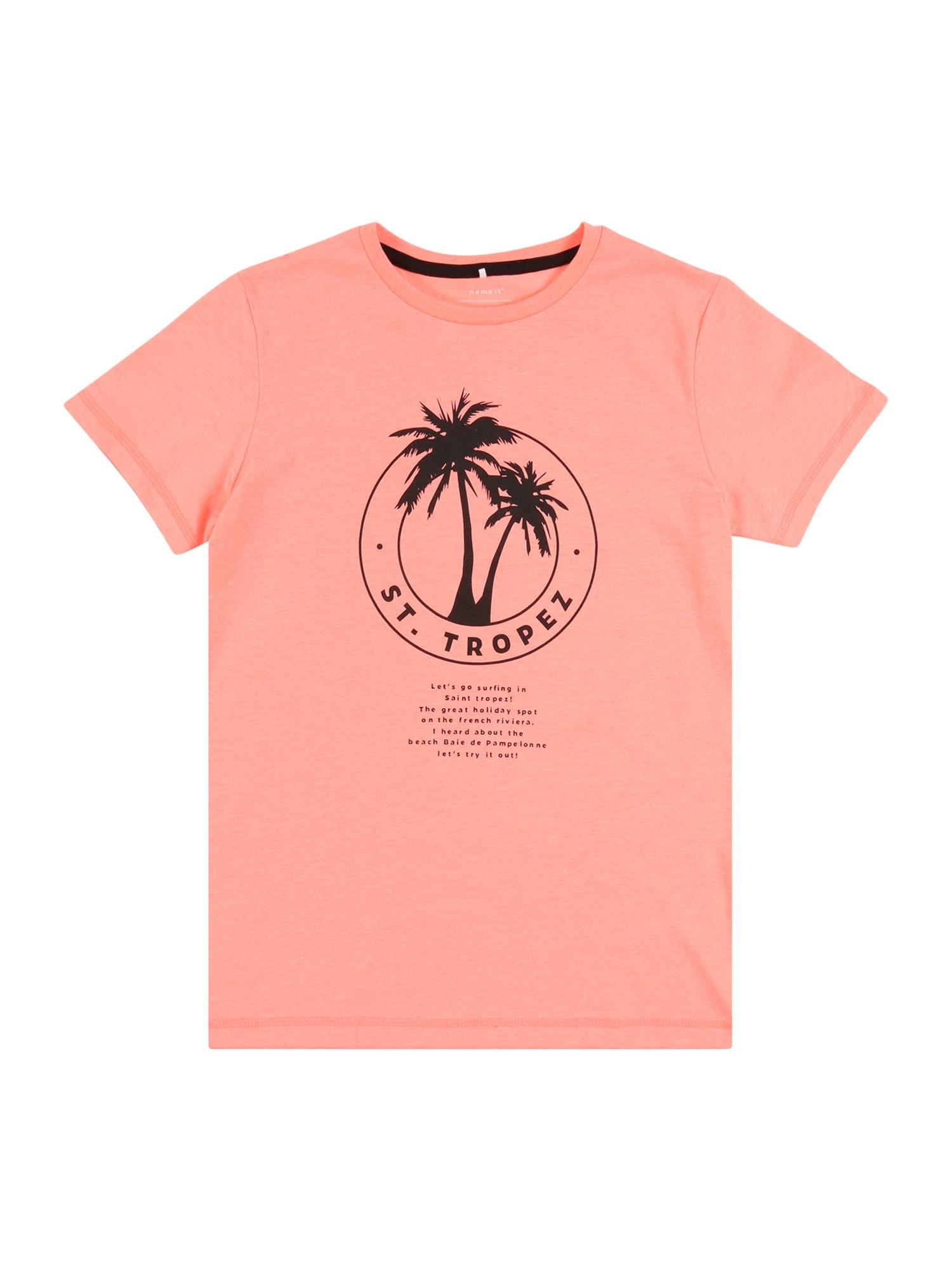 NAME IT Marškinėliai 'NKMZONK' koralų splava