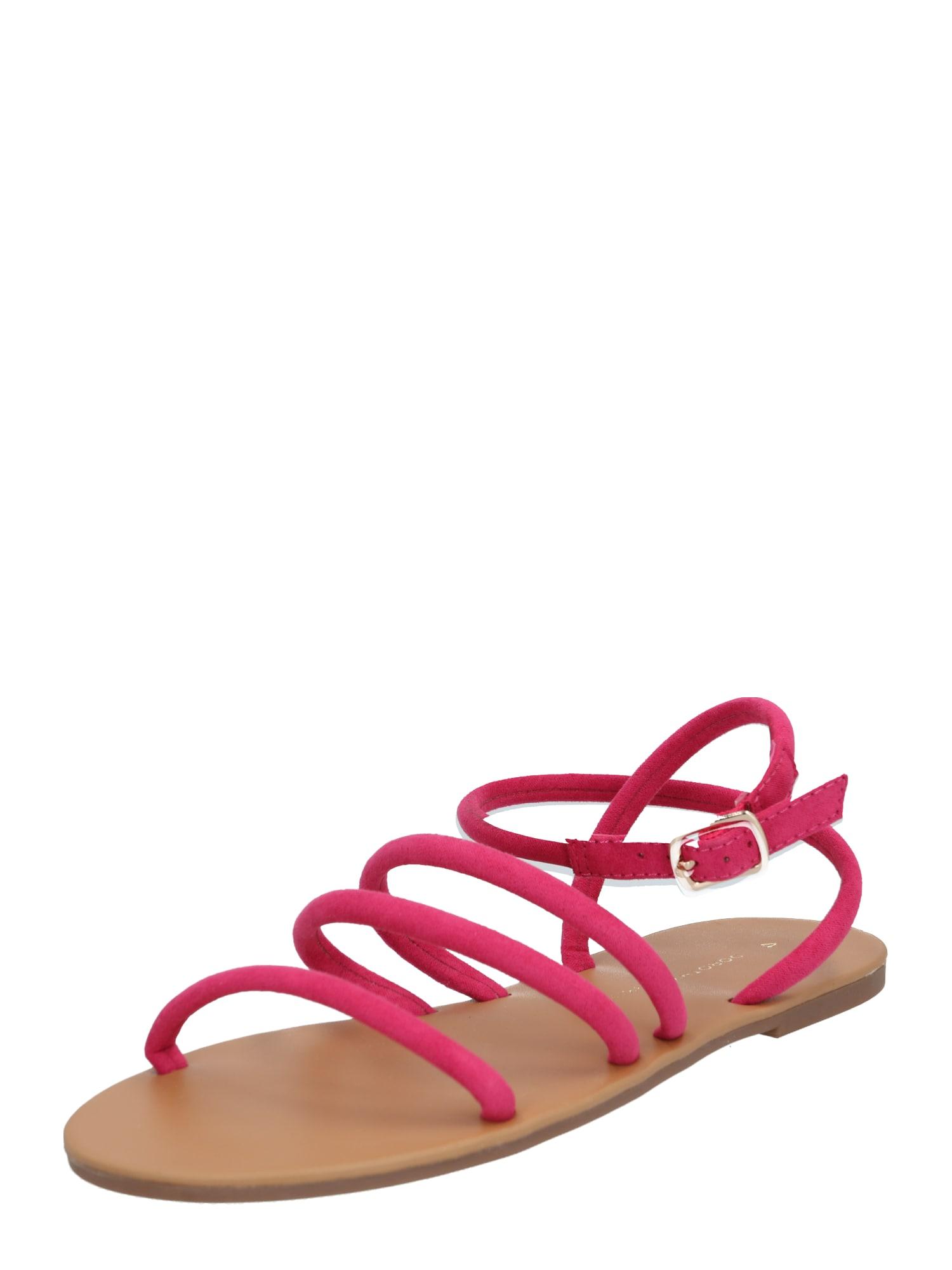 Dorothy Perkins Remienkové sandále 'Flicka Tubular Sandal'  ružová
