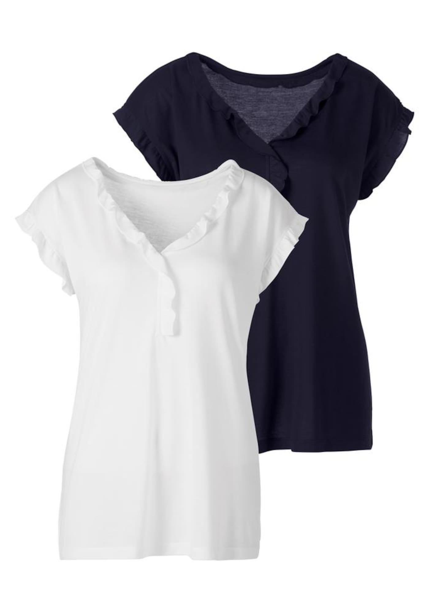 BEACH TIME Marškinėliai balta