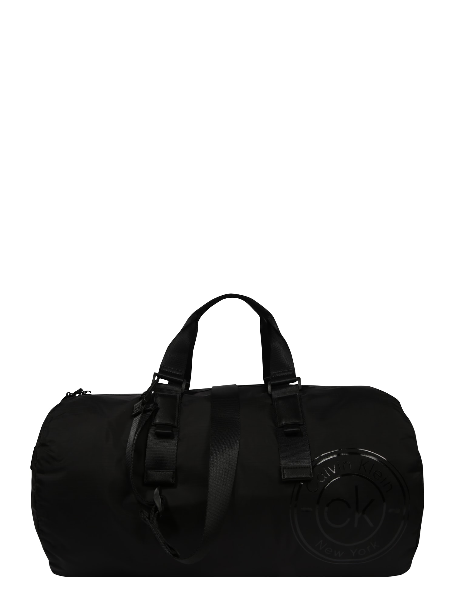 Calvin Klein Kelioninis krepšys 'AVAILED DUFFLE' juoda