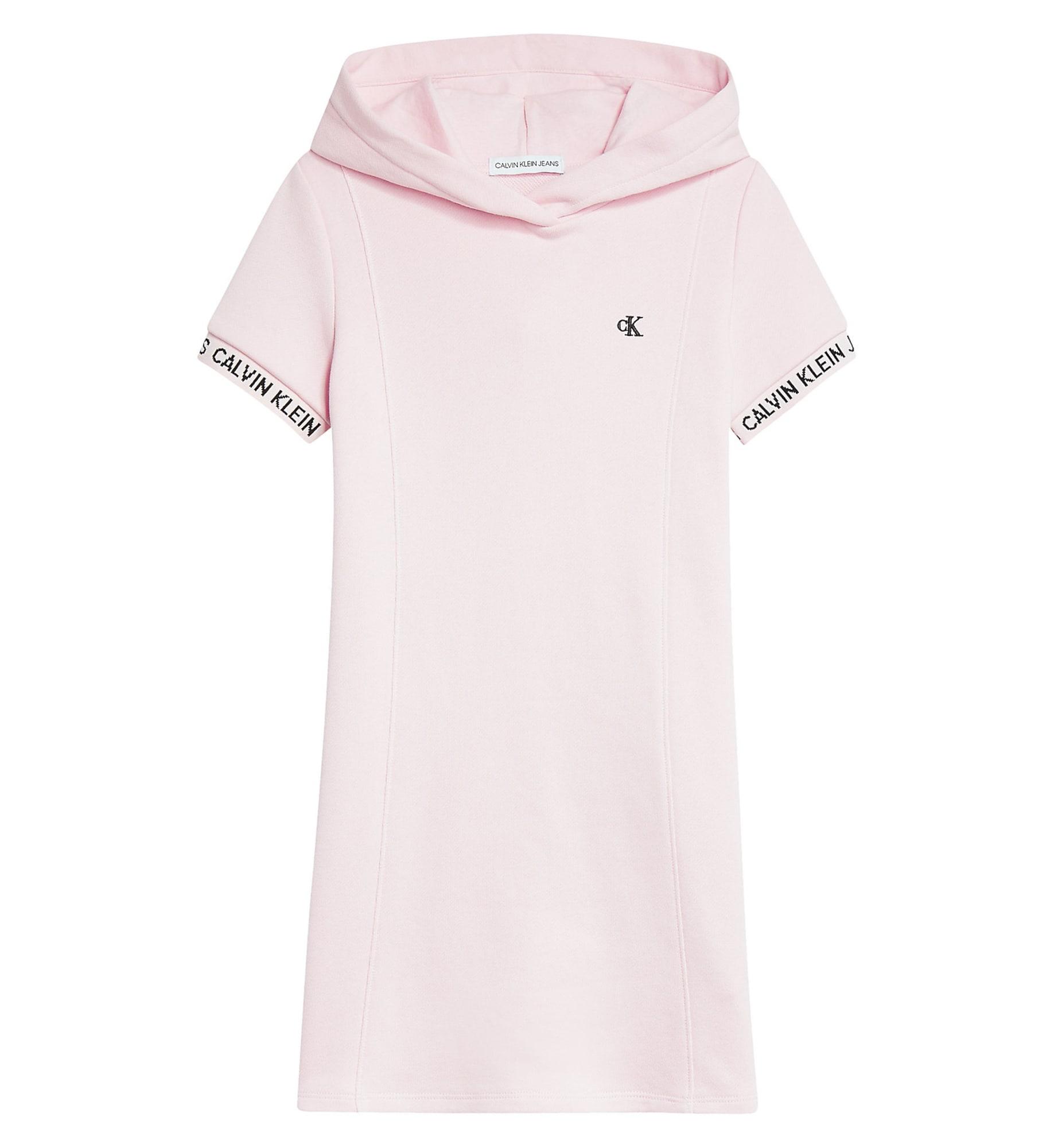 Calvin Klein Jeans Suknelė ryškiai rožinė spalva