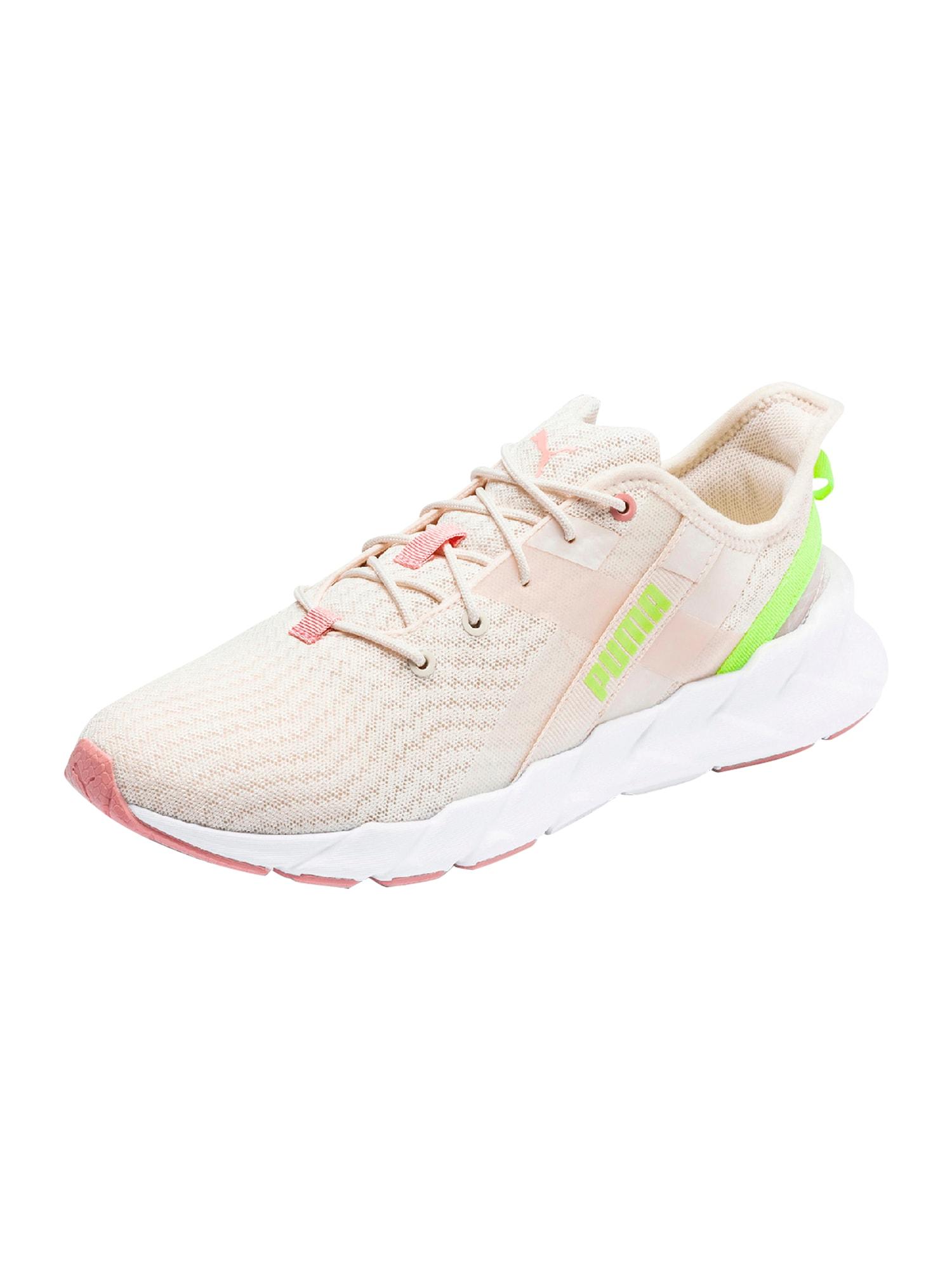 PUMA Sportiniai batai 'Weave XT Shift Wn's' geltona / rožių spalva