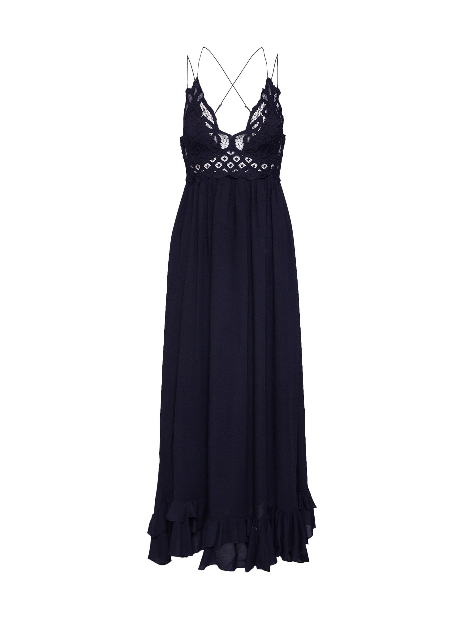 Free People Vakarinė suknelė 'ADELLA MAXI SLIP' juoda