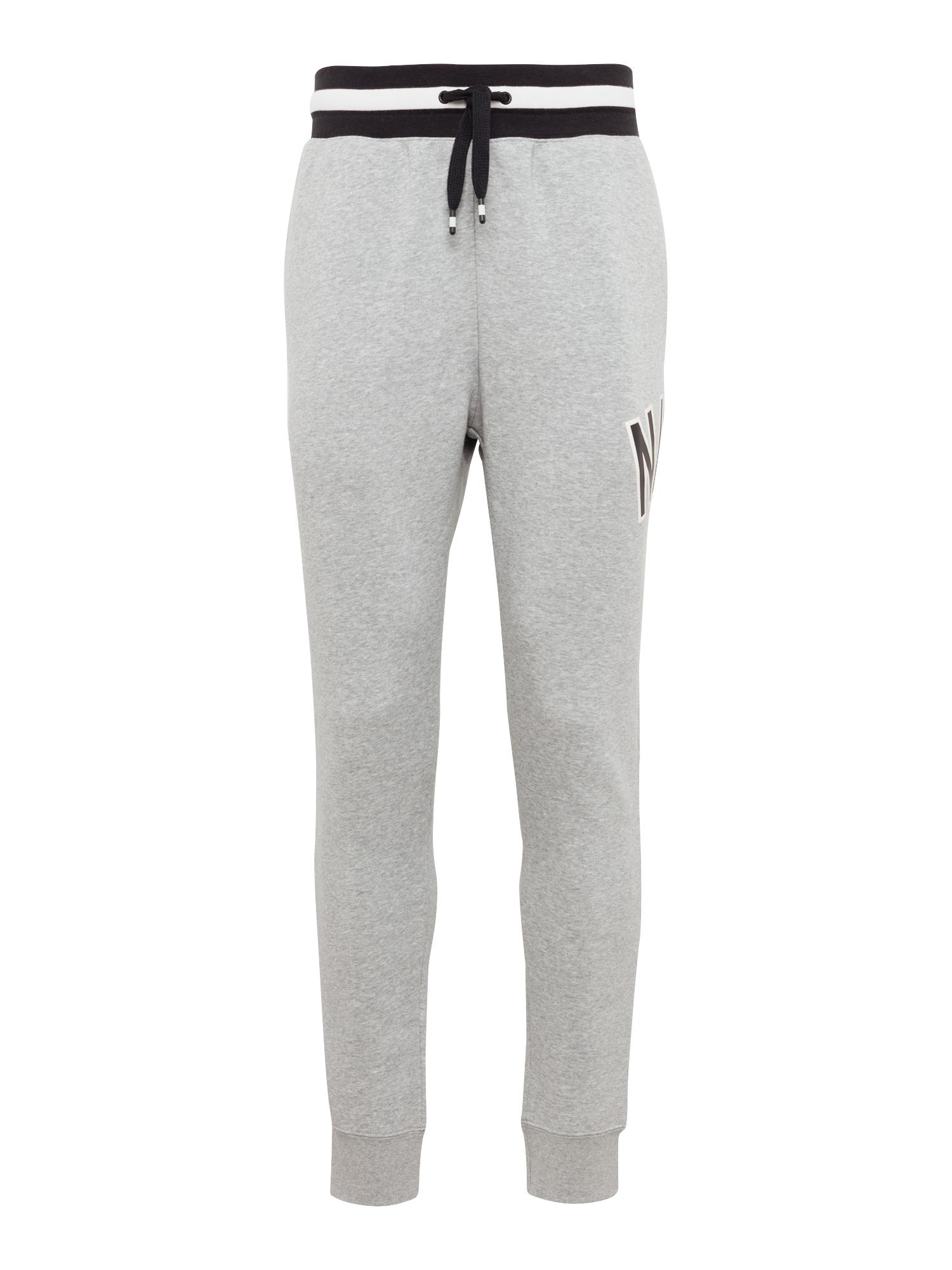 Kalhoty M NSW NIKE AIR PANT FLC šedá černá Nike Sportswear