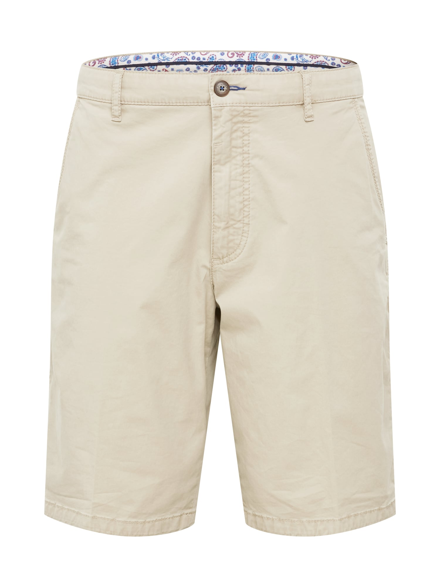 bugatti Chino stiliaus kelnės '4869' gelsvai pilka spalva