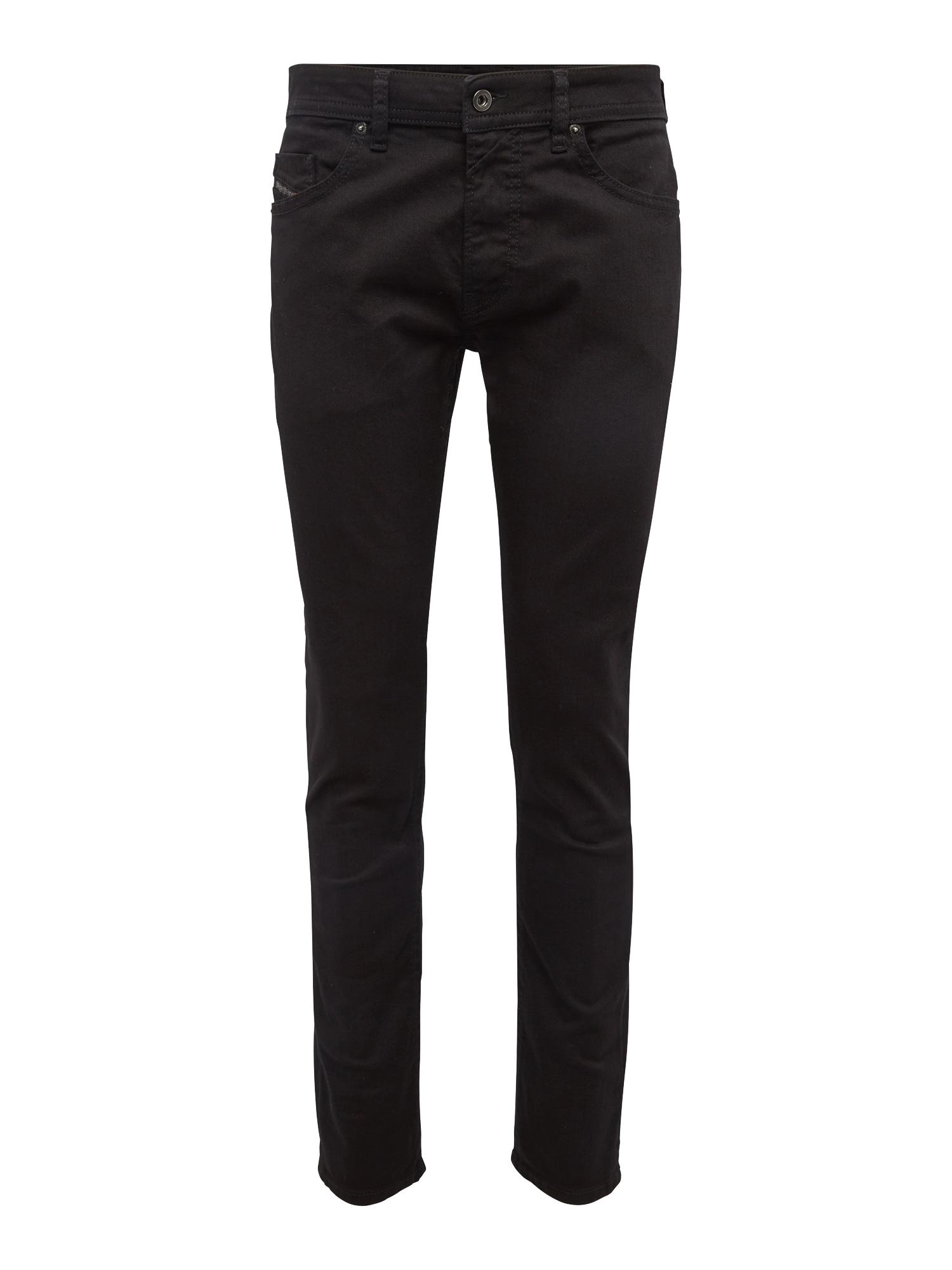 DIESEL Džinsai 'Thommer' juodo džinso spalva