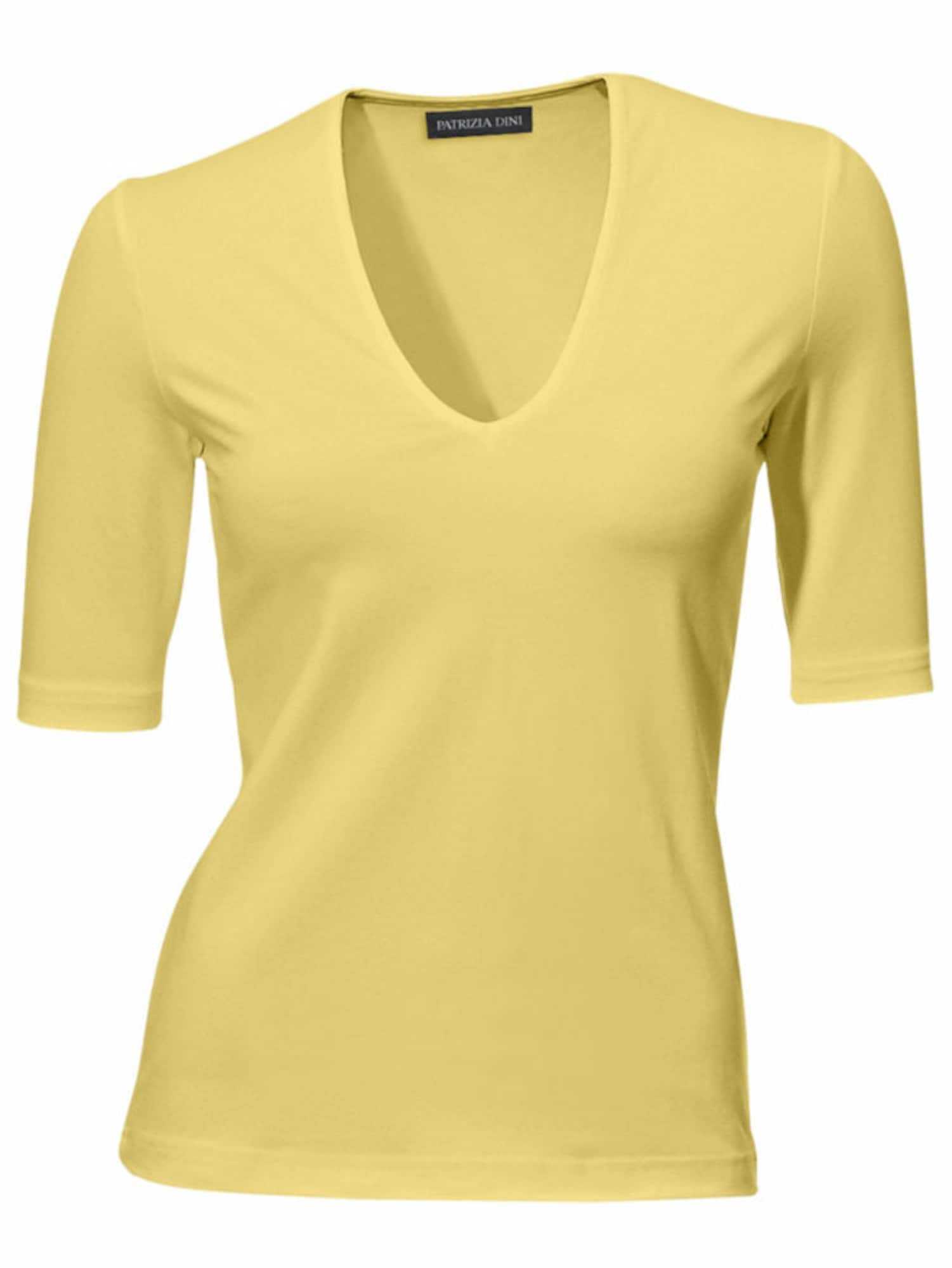 Ashley Brooke by heine Marškinėliai geltonosios citrinos spalva