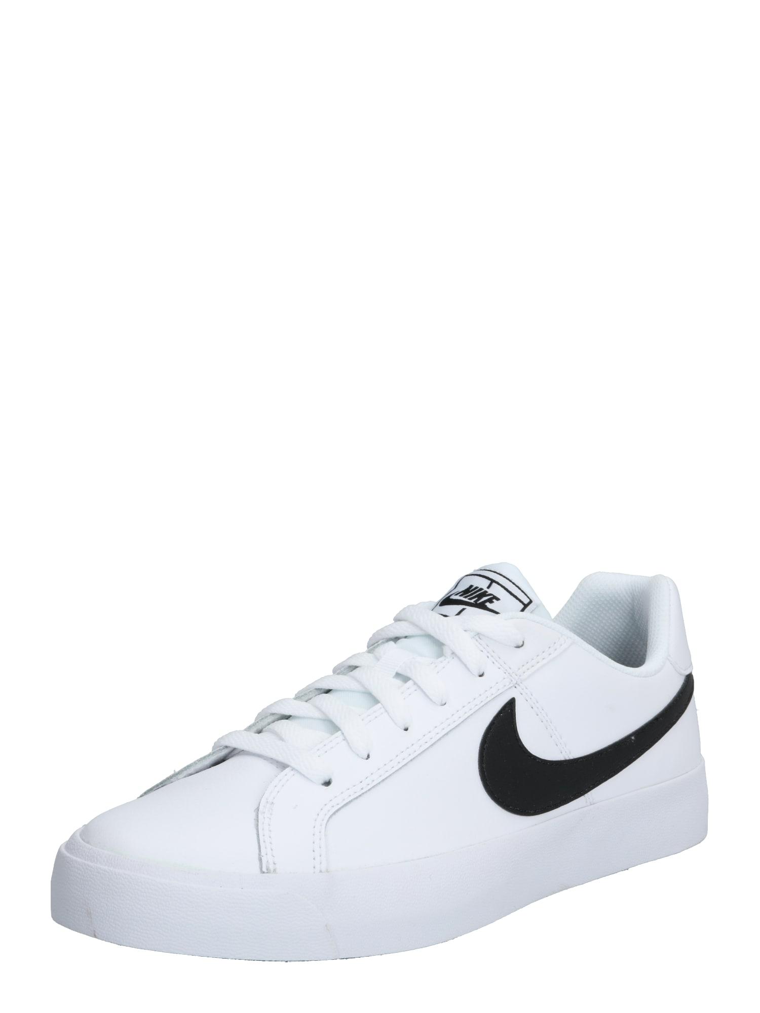 Nike Sportswear Nízke tenisky 'NikeCourt Royale AC'  biela / čierna