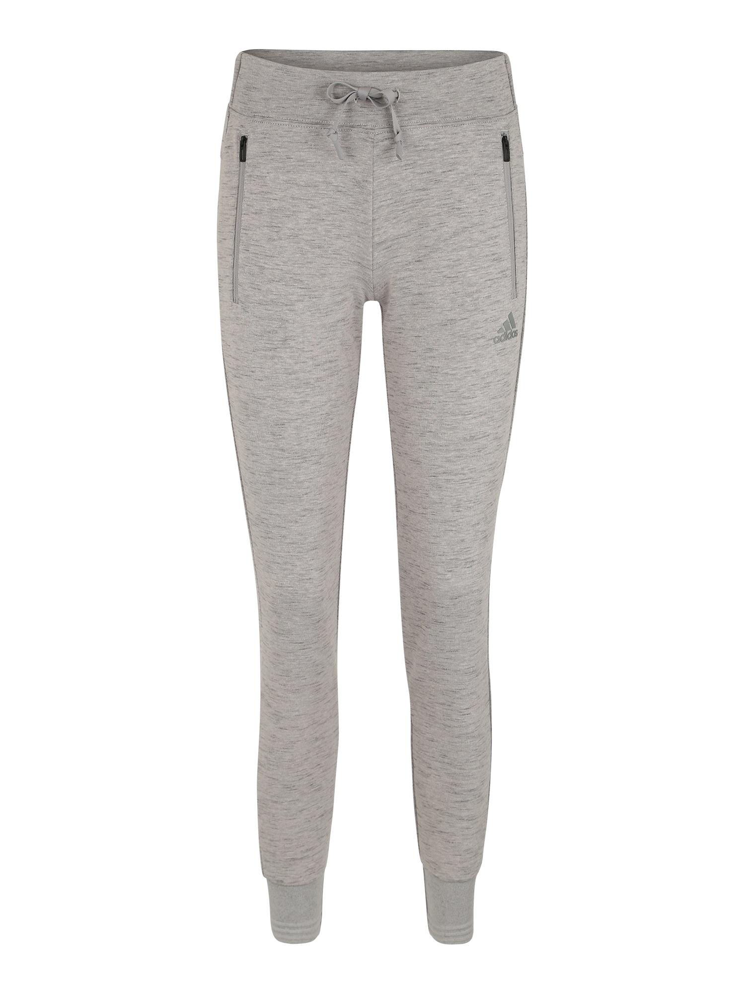Sportovní kalhoty šedá ADIDAS PERFORMANCE