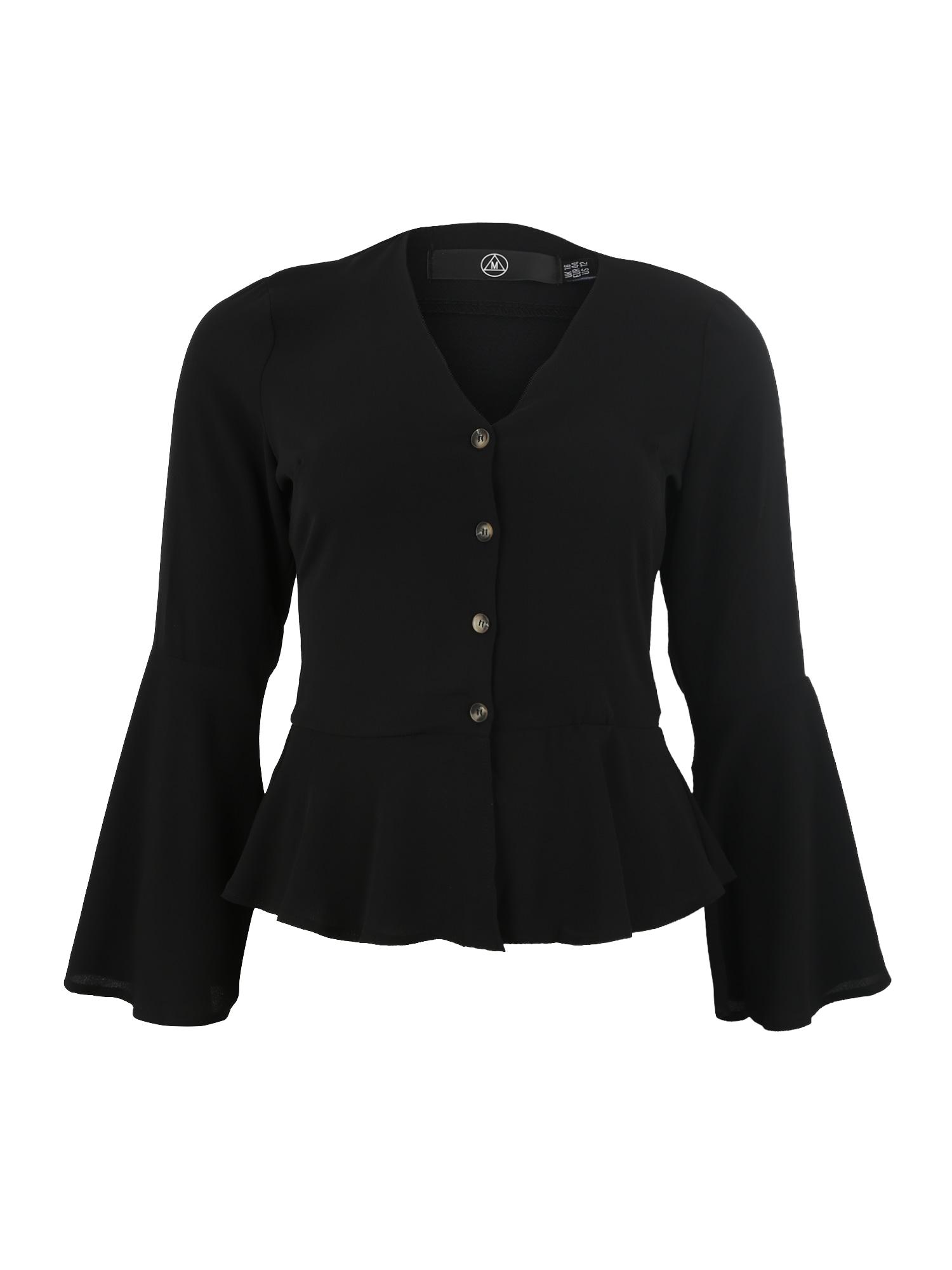 Tričko černá Missguided Plus