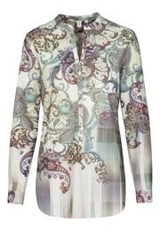 SEIDENSTICKER Damen Fashion-Bluse Schwarze Rose creme,beige | 04041215354324