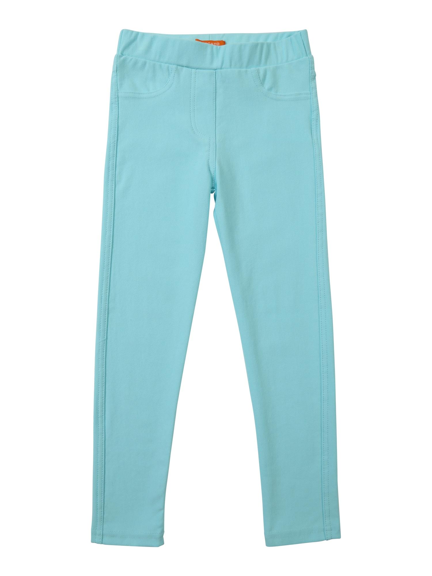 Kalhoty aqua modrá STACCATO