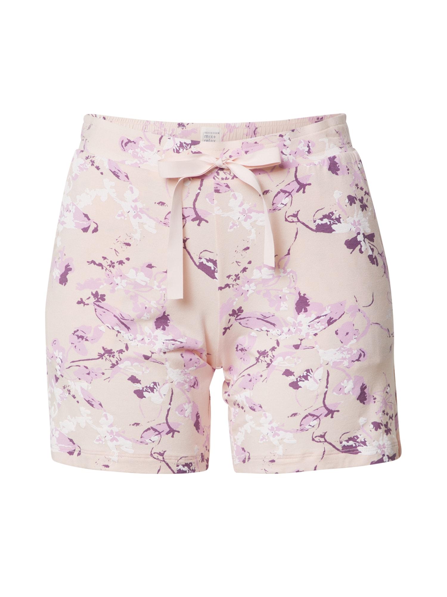 SCHIESSER Pižaminiai šortukai rožinė
