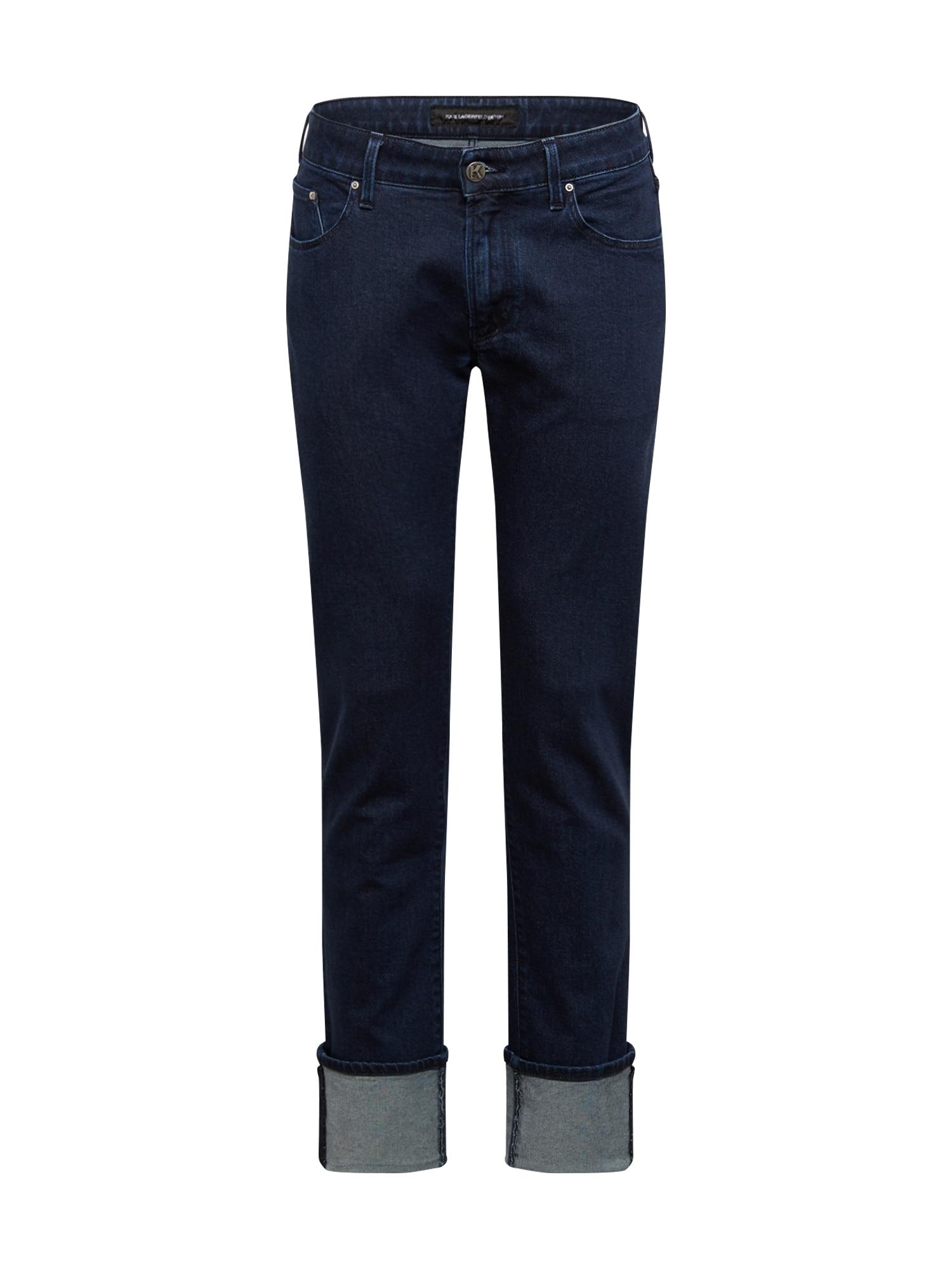 Karl Lagerfeld Denim Džinsai 'MP0006' tamsiai (džinso) mėlyna