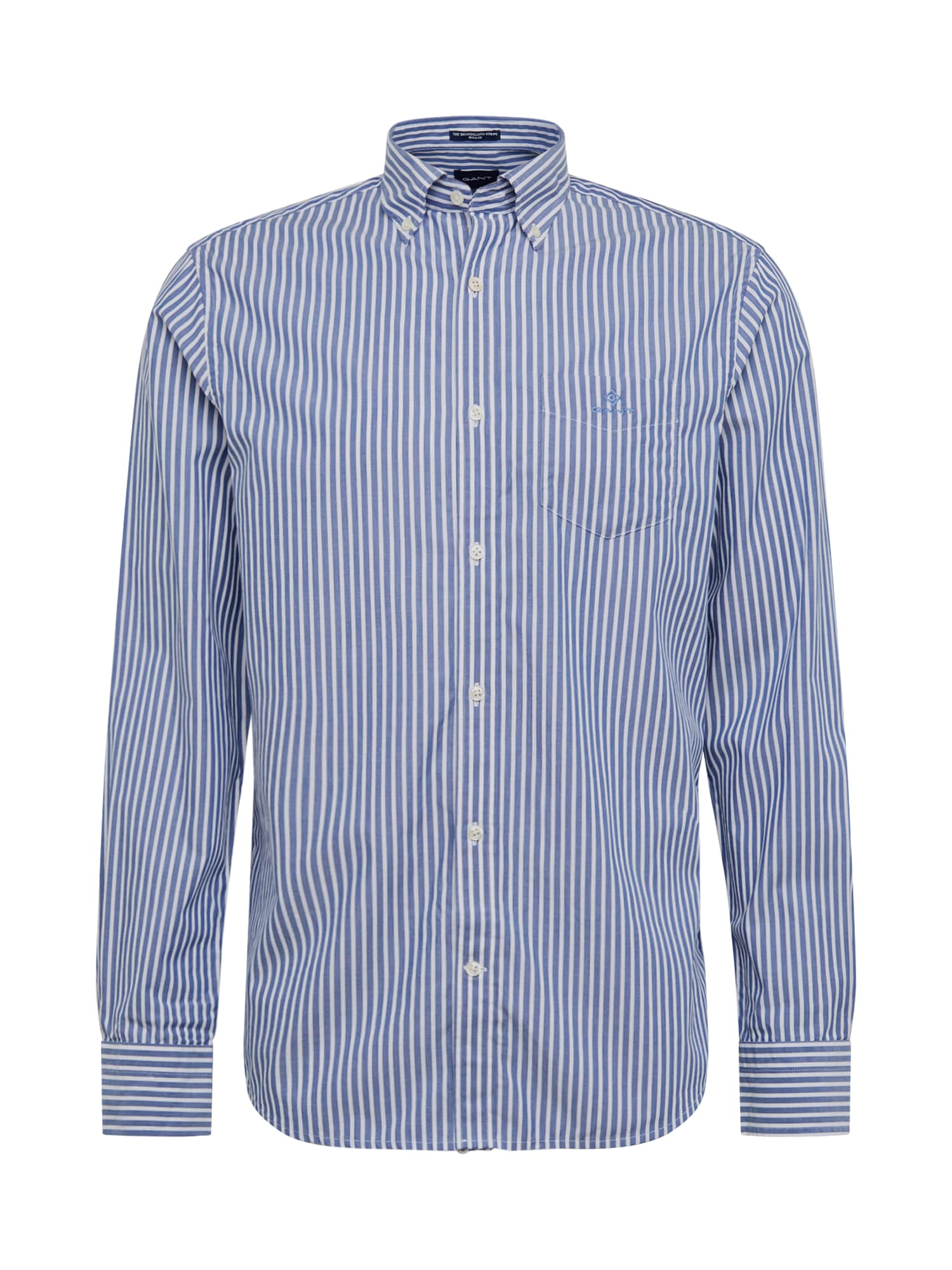 GANT Marškiniai mėlyna / balta