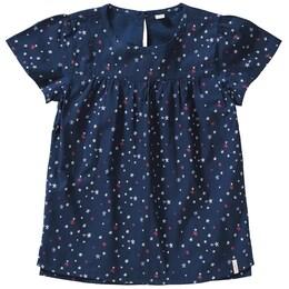 Kinder,  Mädchen ESPRIT Kurzarmbluse blau | 03663760712056
