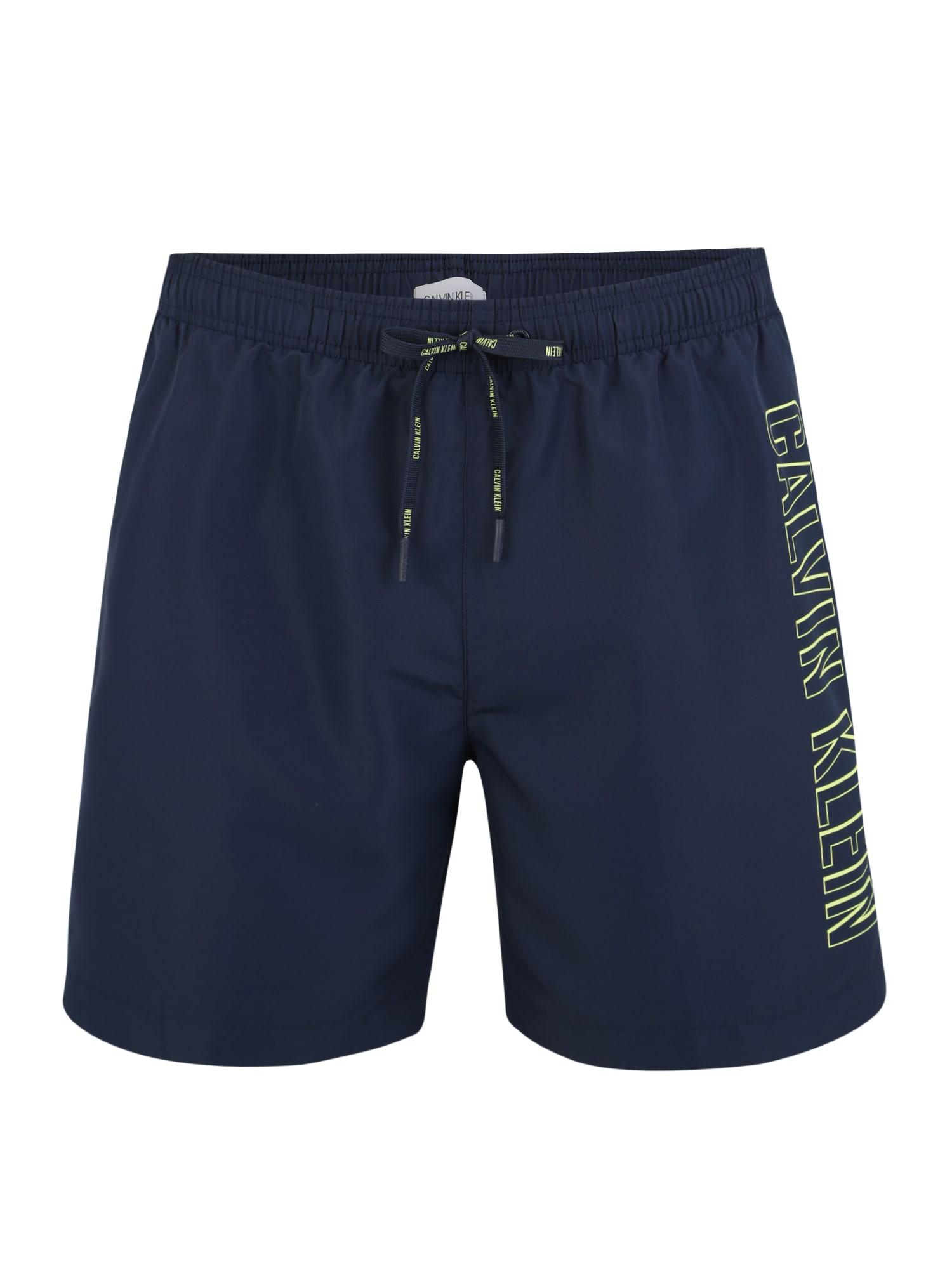 Plavecké šortky tmavě modrá Calvin Klein Swimwear