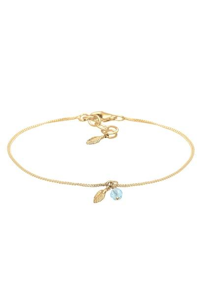 Armbaender für Frauen - ELLI Armband azur gold  - Onlineshop ABOUT YOU