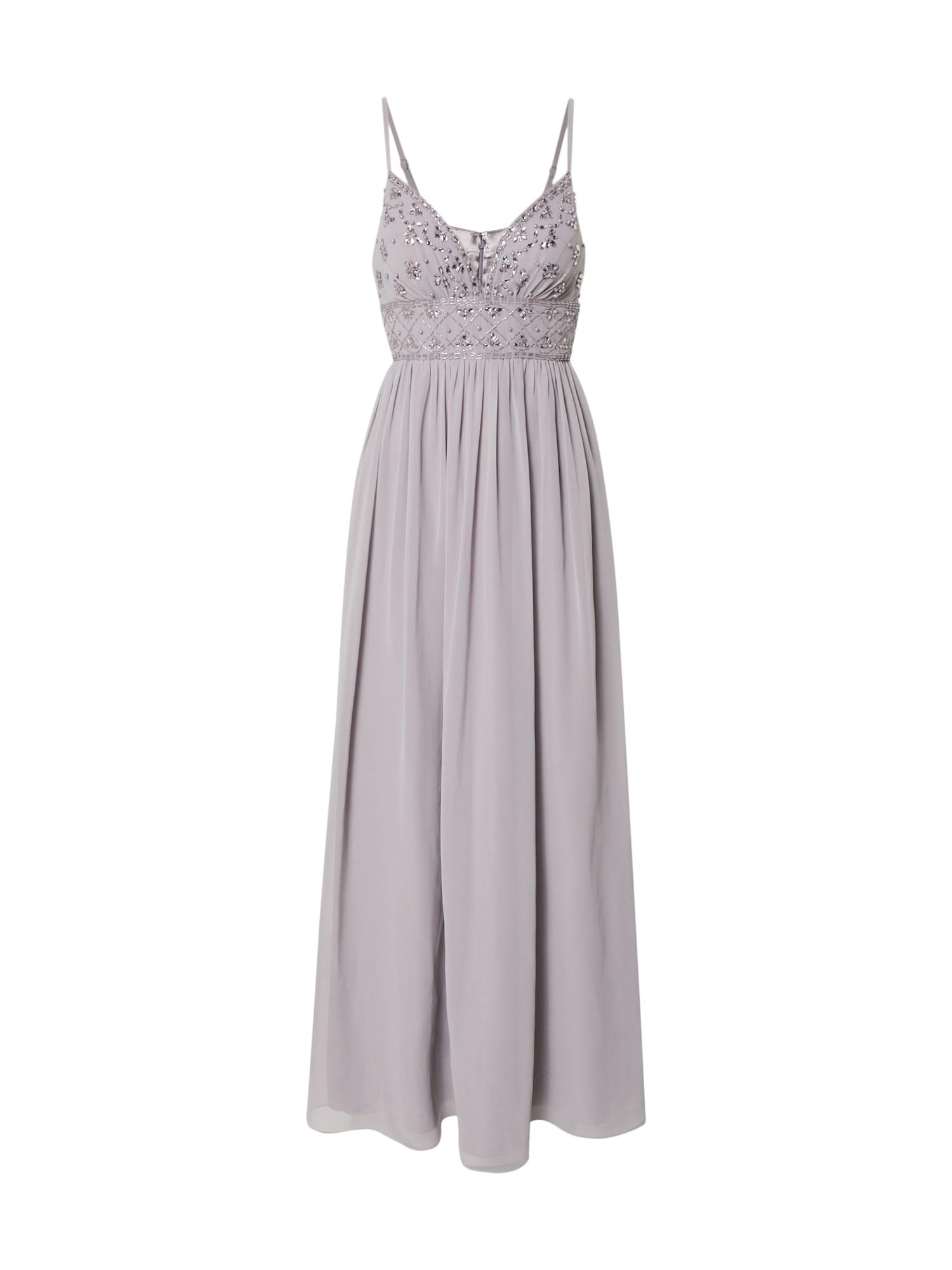 Laona Vakarinė suknelė sidabrinė / alyvinė spalva