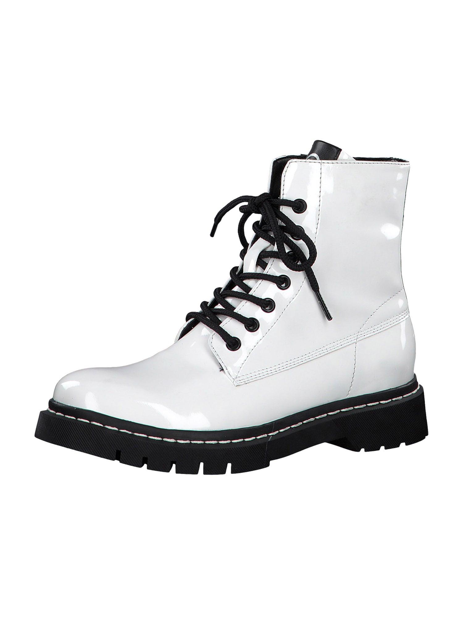 TAMARIS Suvarstomieji kulkšnis dengiantys batai balta