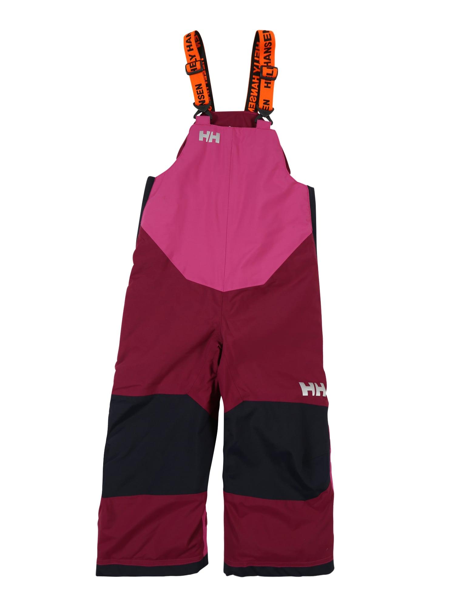 HELLY HANSEN Sportinės kelnės 'RIDER 2' purpurinė / vyno raudona spalva / tamsiai mėlyna jūros spalva / pilka