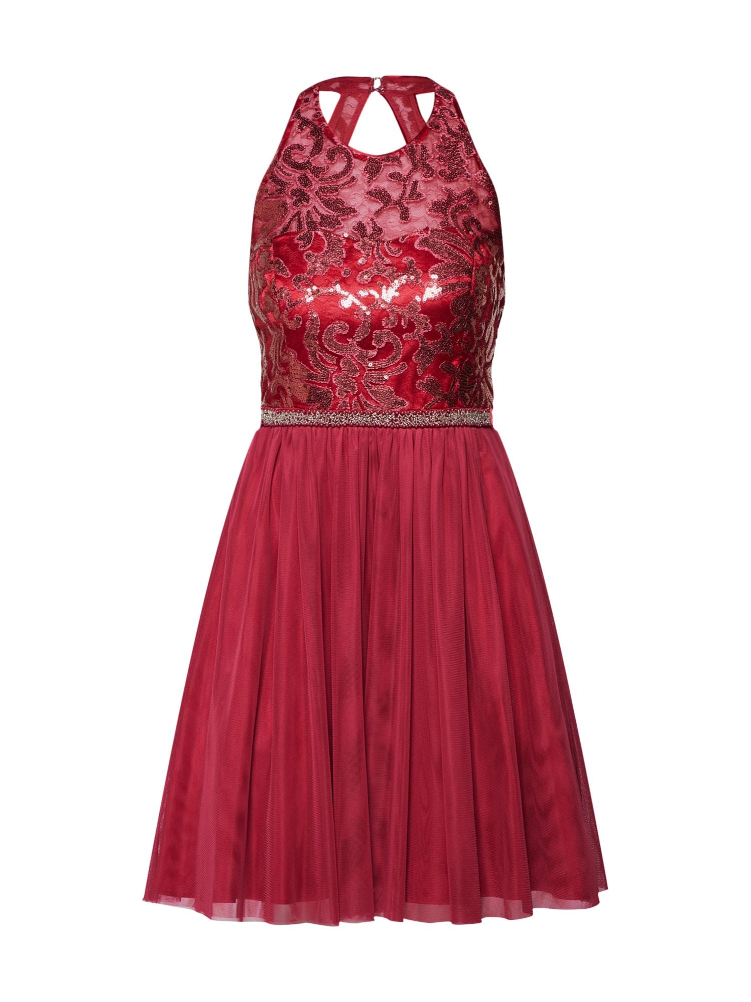 Vera Mont Kokteilinė suknelė raudona