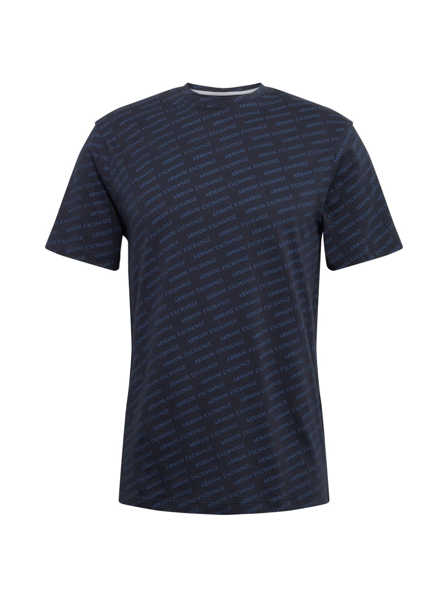 ARMANI EXCHANGE Marškinėliai '3HZTFC' tamsiai mėlyna