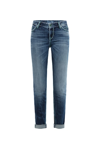 Hosen für Frauen - Jeans 'HE DI' › Soccx › blue denim  - Onlineshop ABOUT YOU