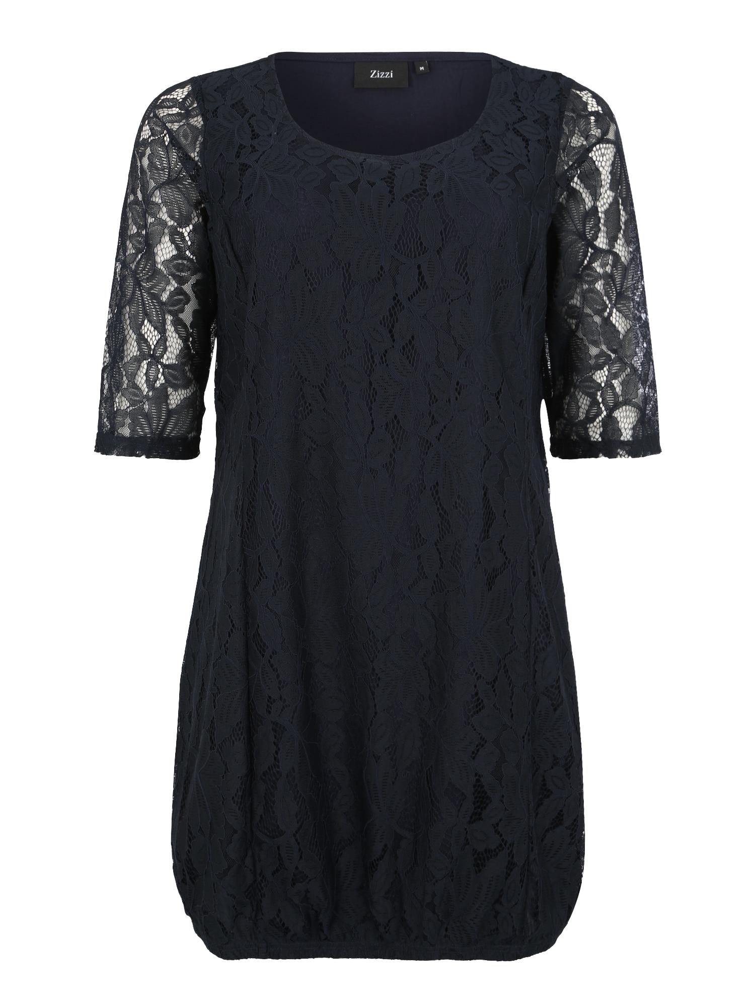 Maxi šaty XAPONI tmavě modrá Zizzi