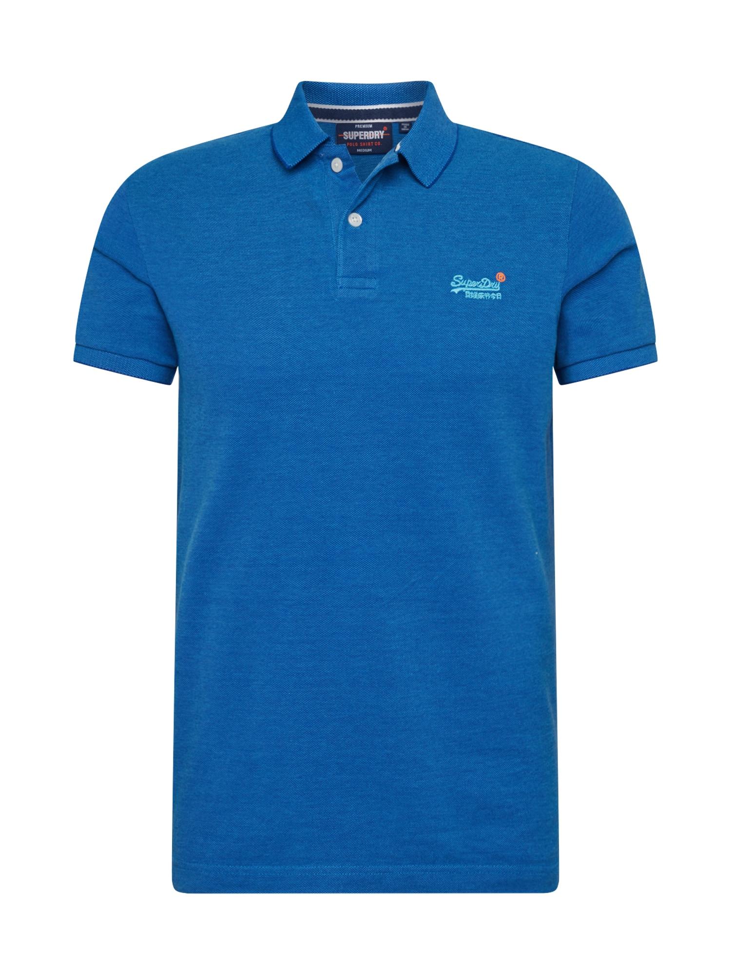 Superdry Marškinėliai margai mėlyna
